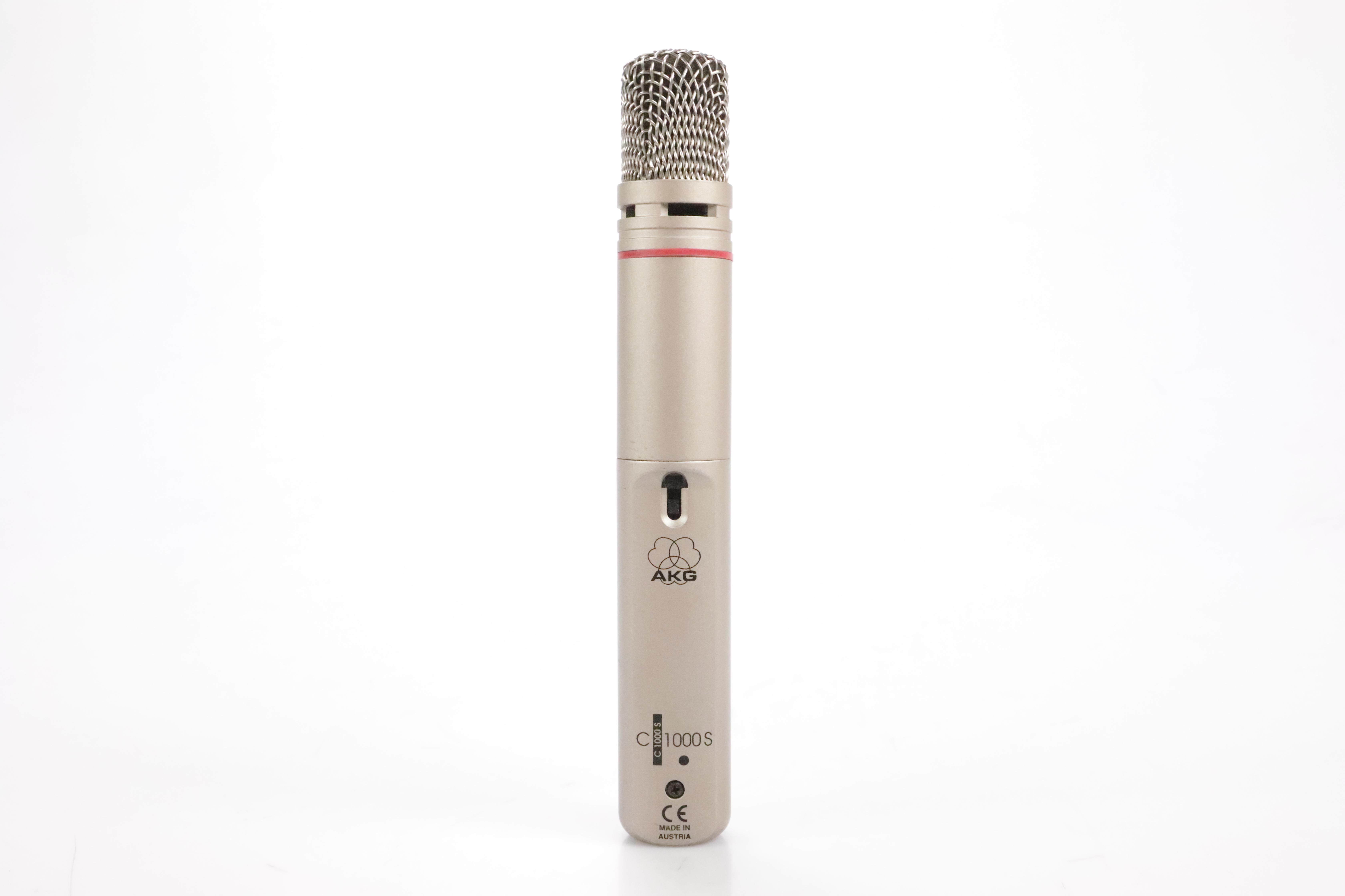 AKG C 1000S Cardioid Condenser Microphone C1000S C 1000 S Mic #34806