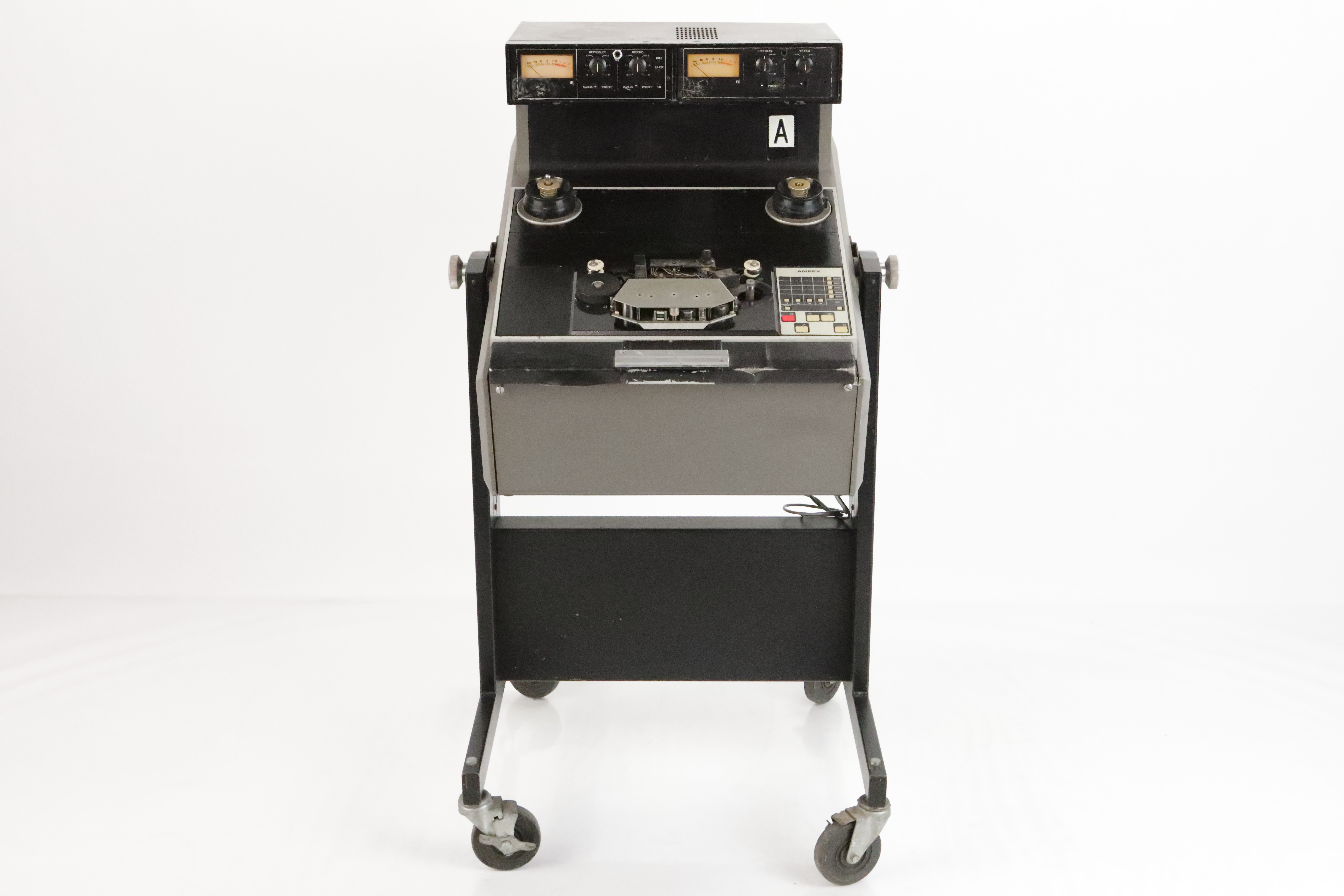 "Ampex ATR-102 1/2"" 2-Track Mastering Tape Machine #35380"