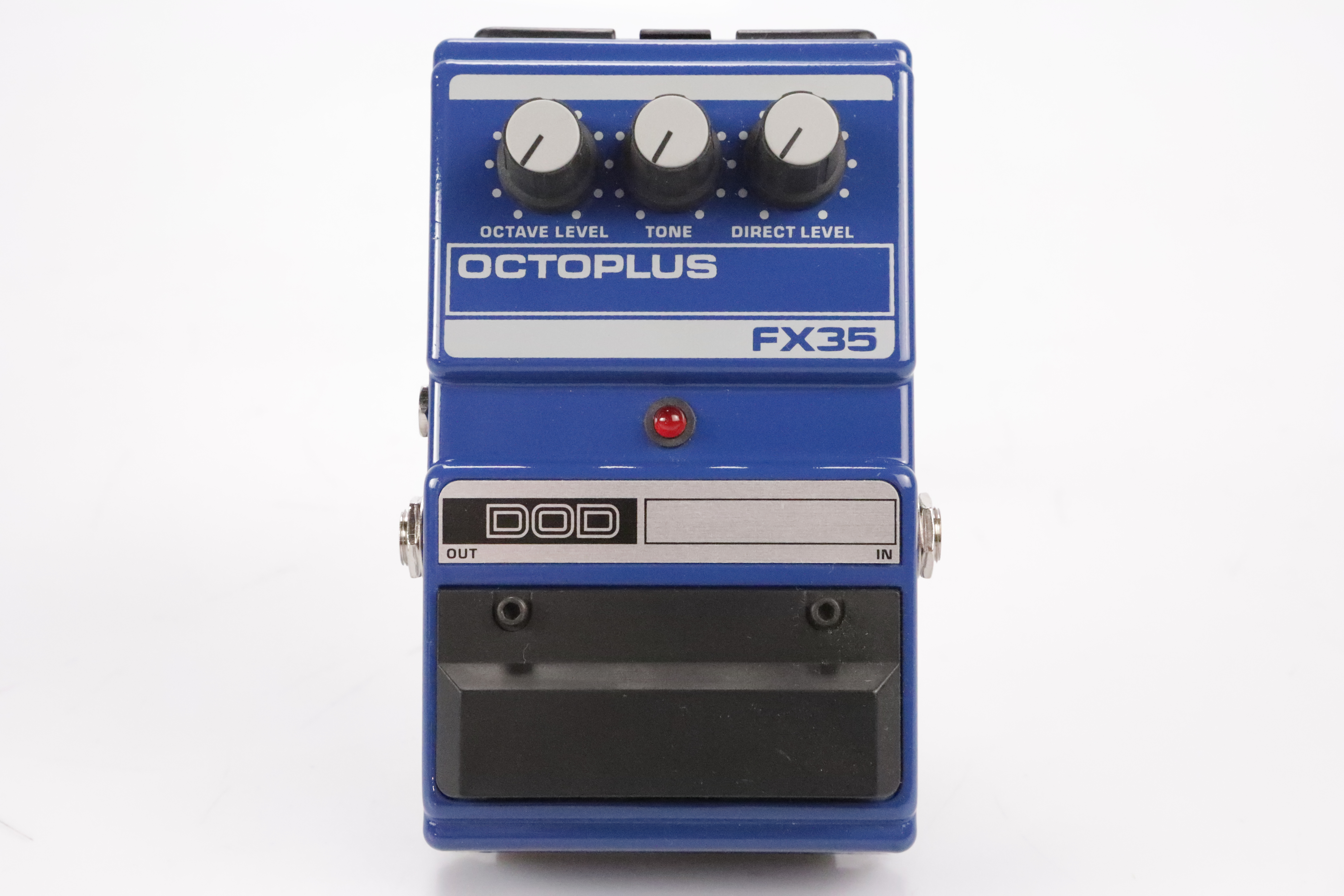 DOD FX35 Octoplus Octave Guitar Effect Pedal w/ Original Box & Cable #34672