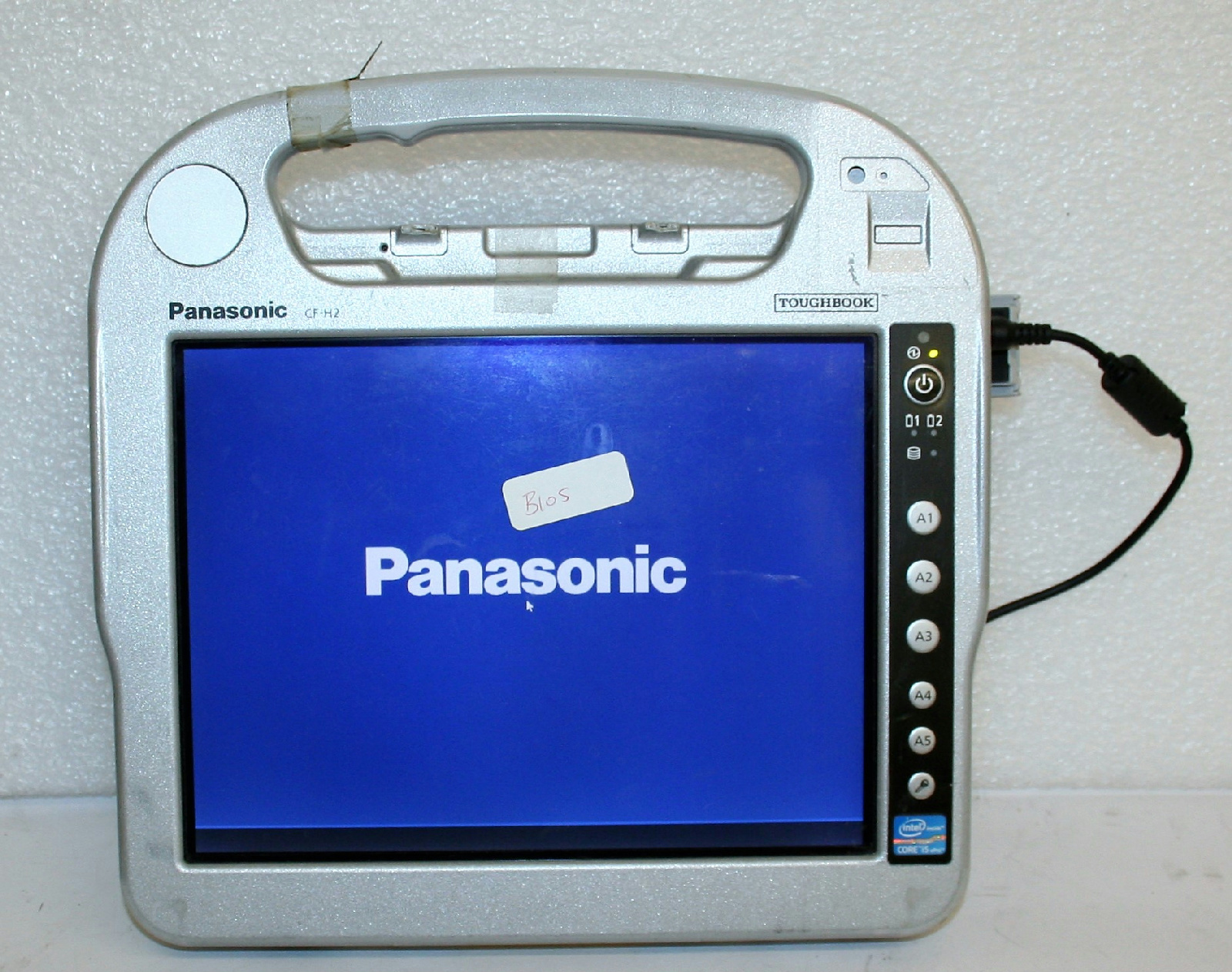 Details about LOT 14 Panasonic Toughbook CF-H2 Intel Core i5 Tablet Laptop  BIOS PASSWORD AS IS