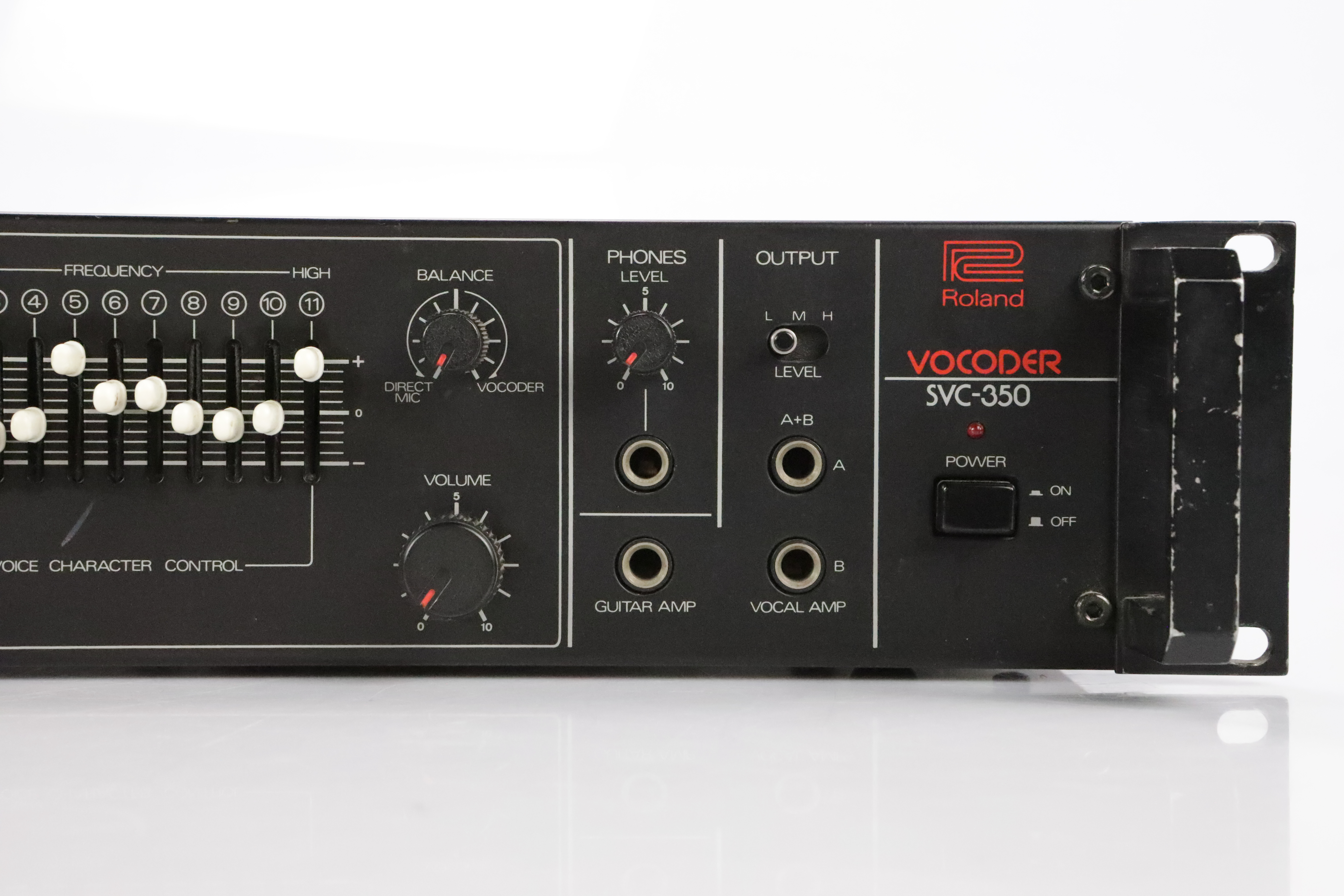 Roland SVC-350 11-Band Analog Vocoder Rack Effect Processor SVC350 #34755