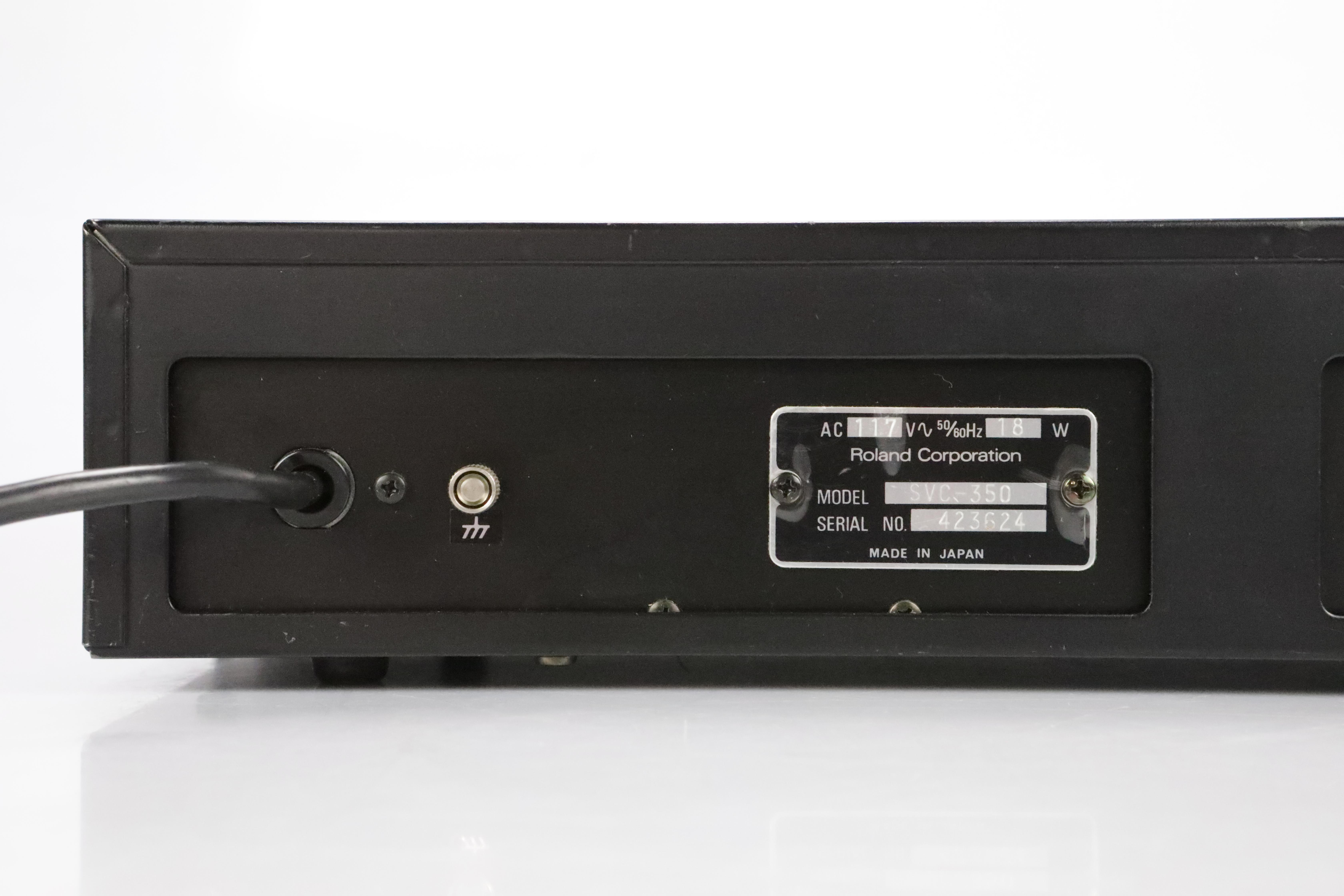 Roland SVC-350 11-Band Analog Vocoder Rack Effect Processor SVC350 #34755