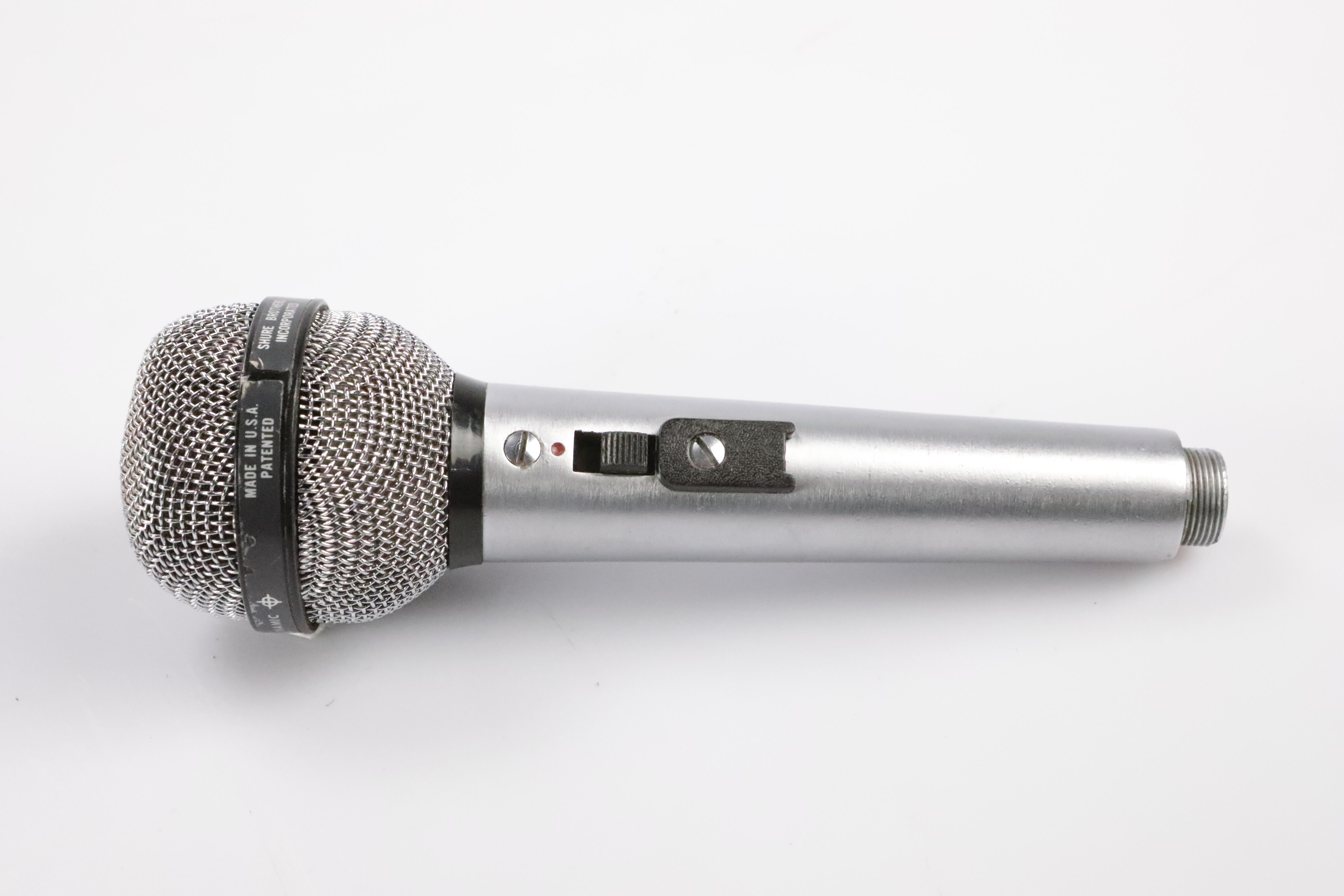 Shure USA PE 585 Unisphere A High Impedance Dynamic Microphone Mic #34659