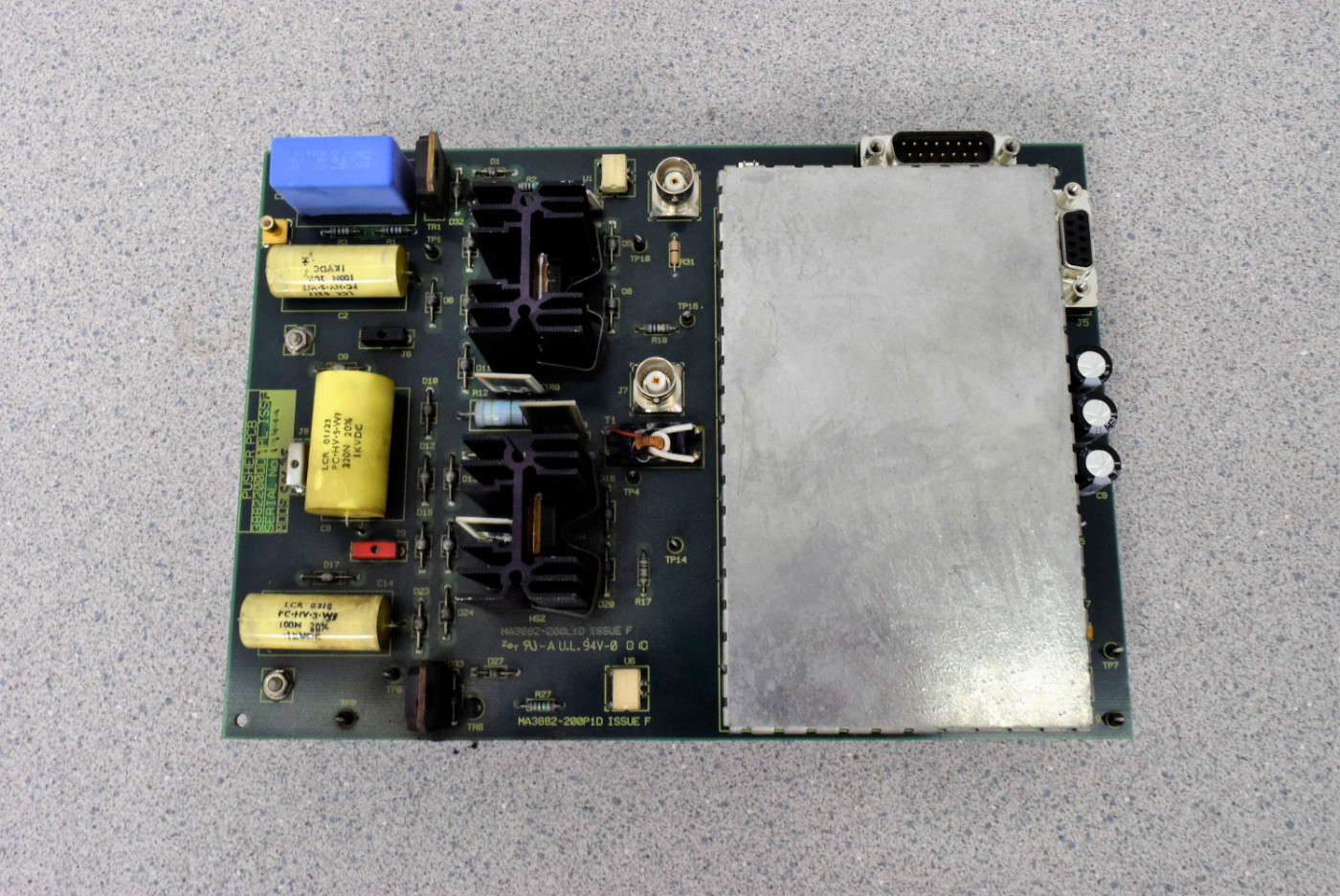 Details about Waters Micromass Assy No  3882200DC1PL Pusher PCB from Ultima  Mass Spec
