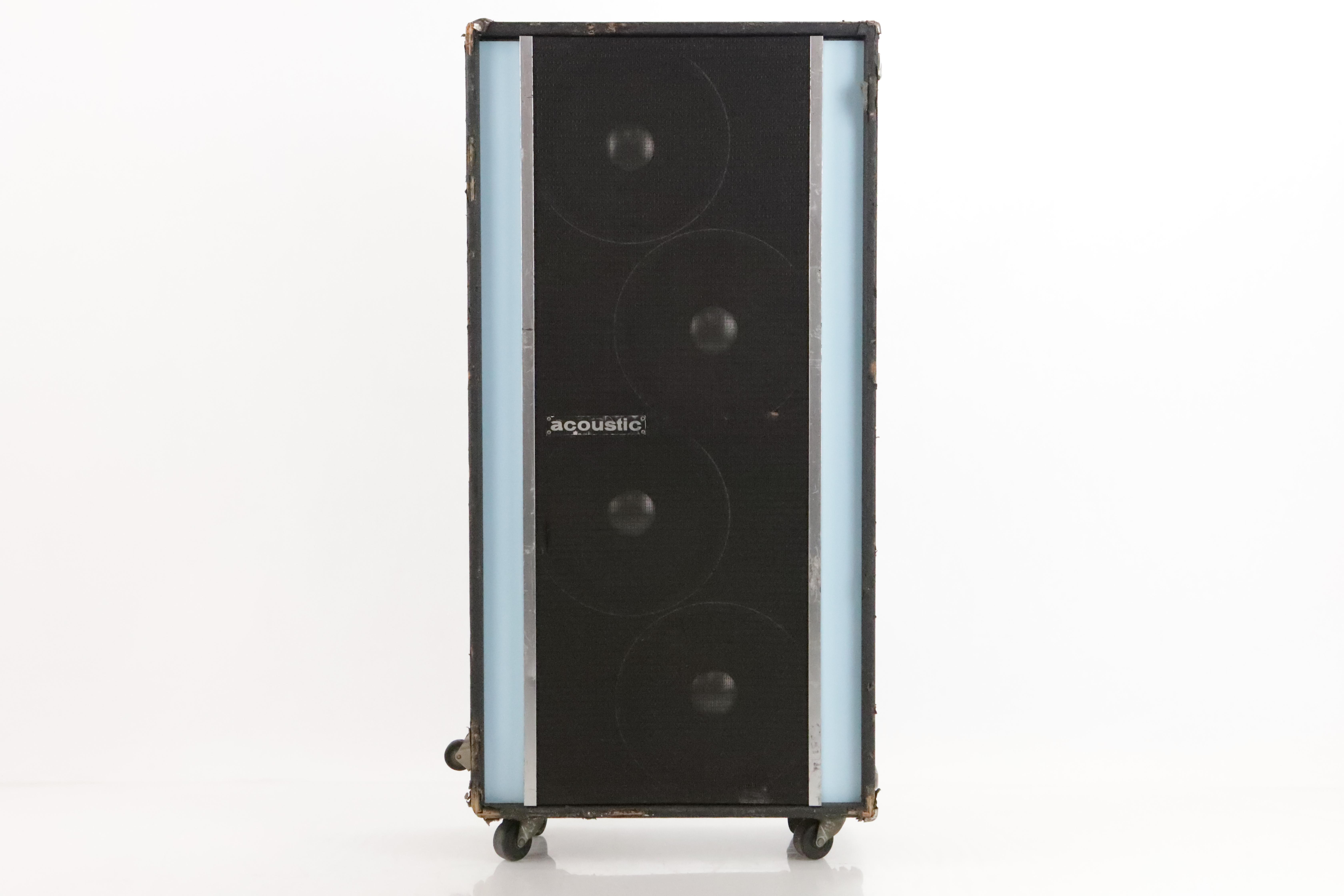 "Acoustic 4x12"" 8 Ohm Guitar Bass PA Cabinet Speaker Cab Altec Lansing 417 #35055"