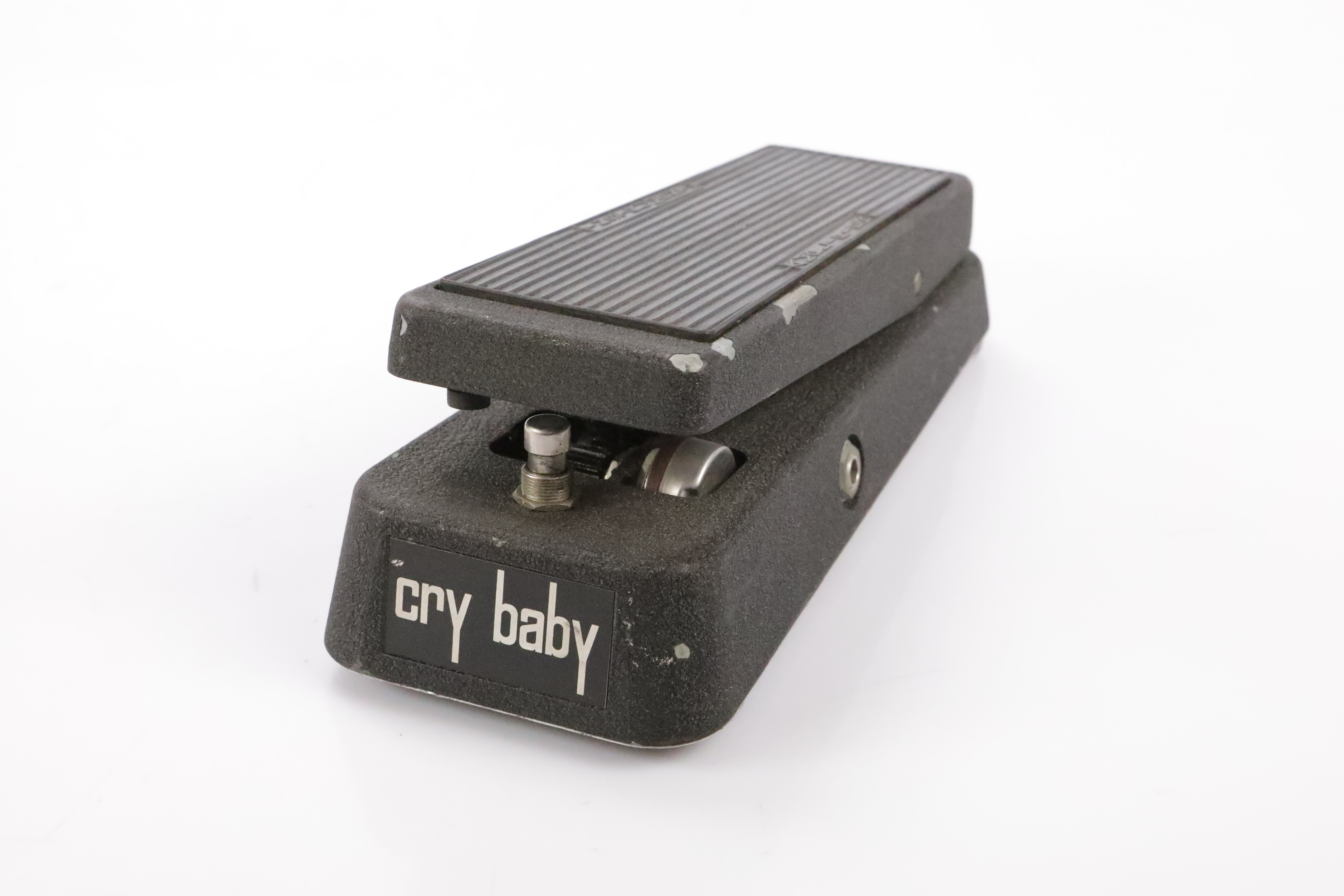Thomas Cry Baby 95-910511 Wah Guitar Pedal w/ 2 Patch Cables TDK Inductor #34479