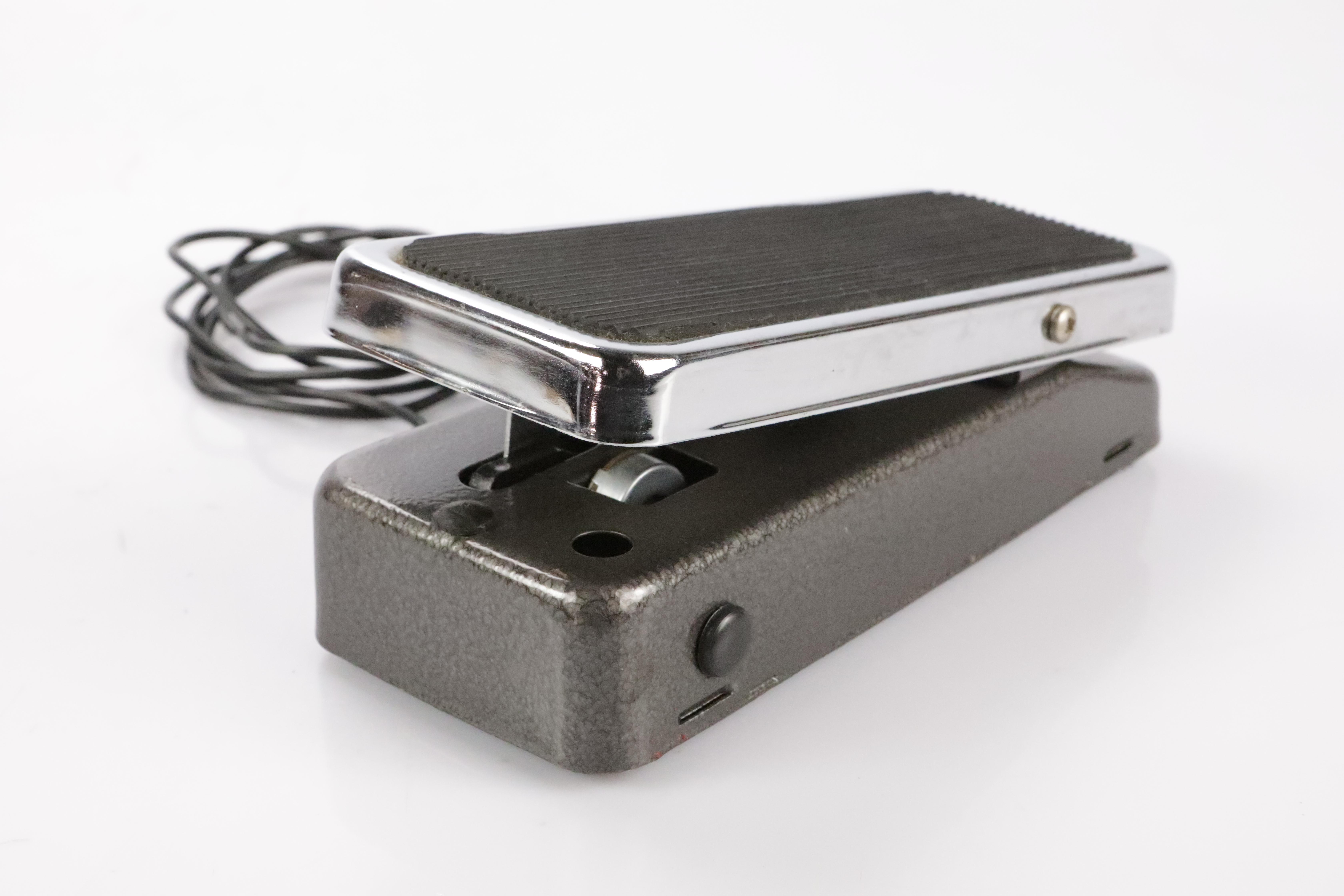 Vintage Colorsound Swell Volume Pedal  w/ 6' Mono Hardline Cable Mod #35448