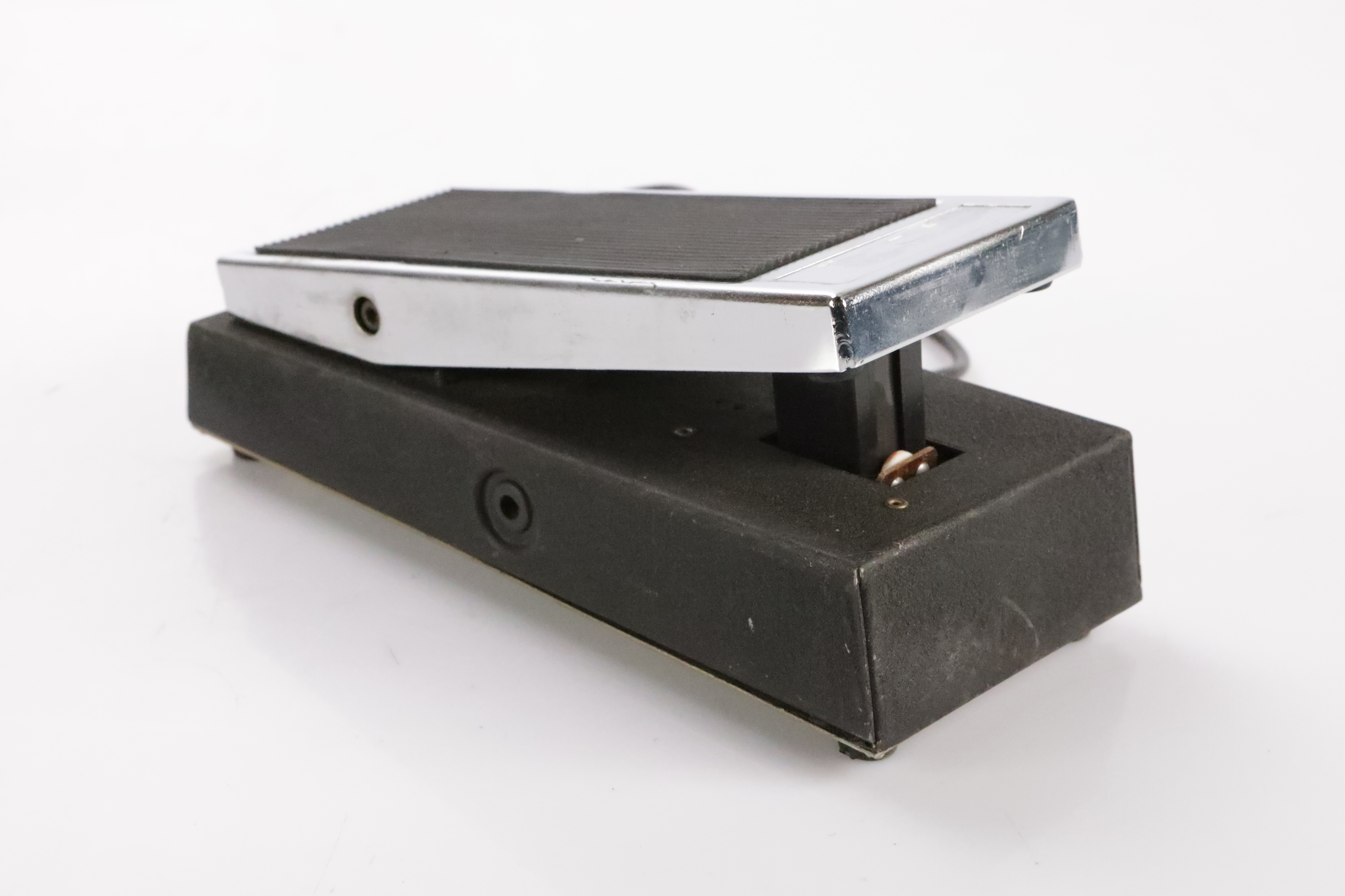 """Vintage Photo Cell Volume Pedal w/ 7' Hardwired Stereo 1/4"""" Cable #35458"""