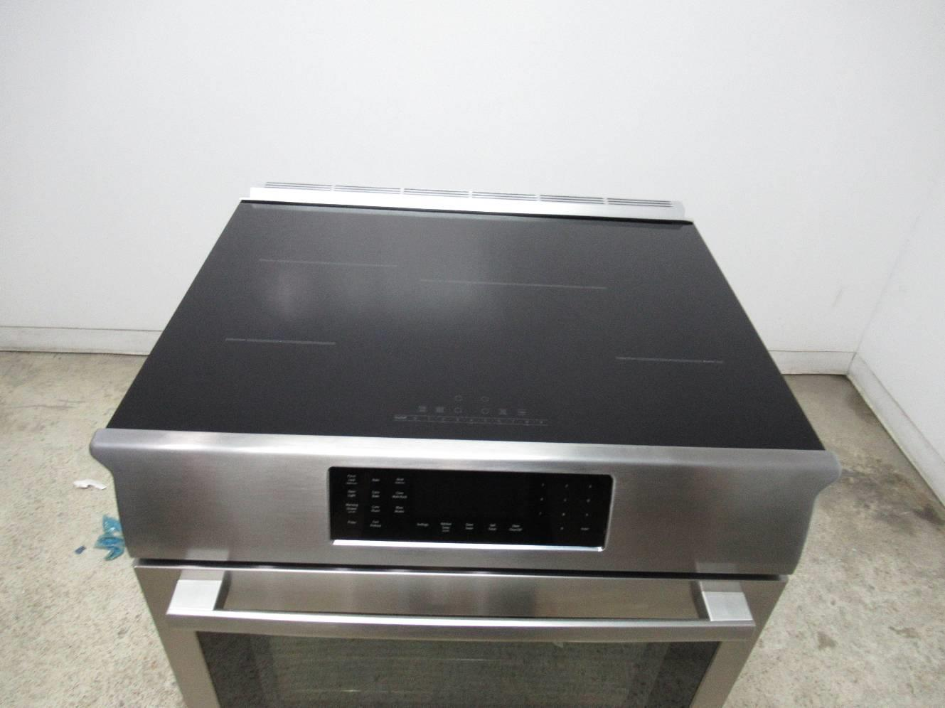 "Bosch 800 DLX 30"" SS 4 Induction Elements Convection Slide ..."