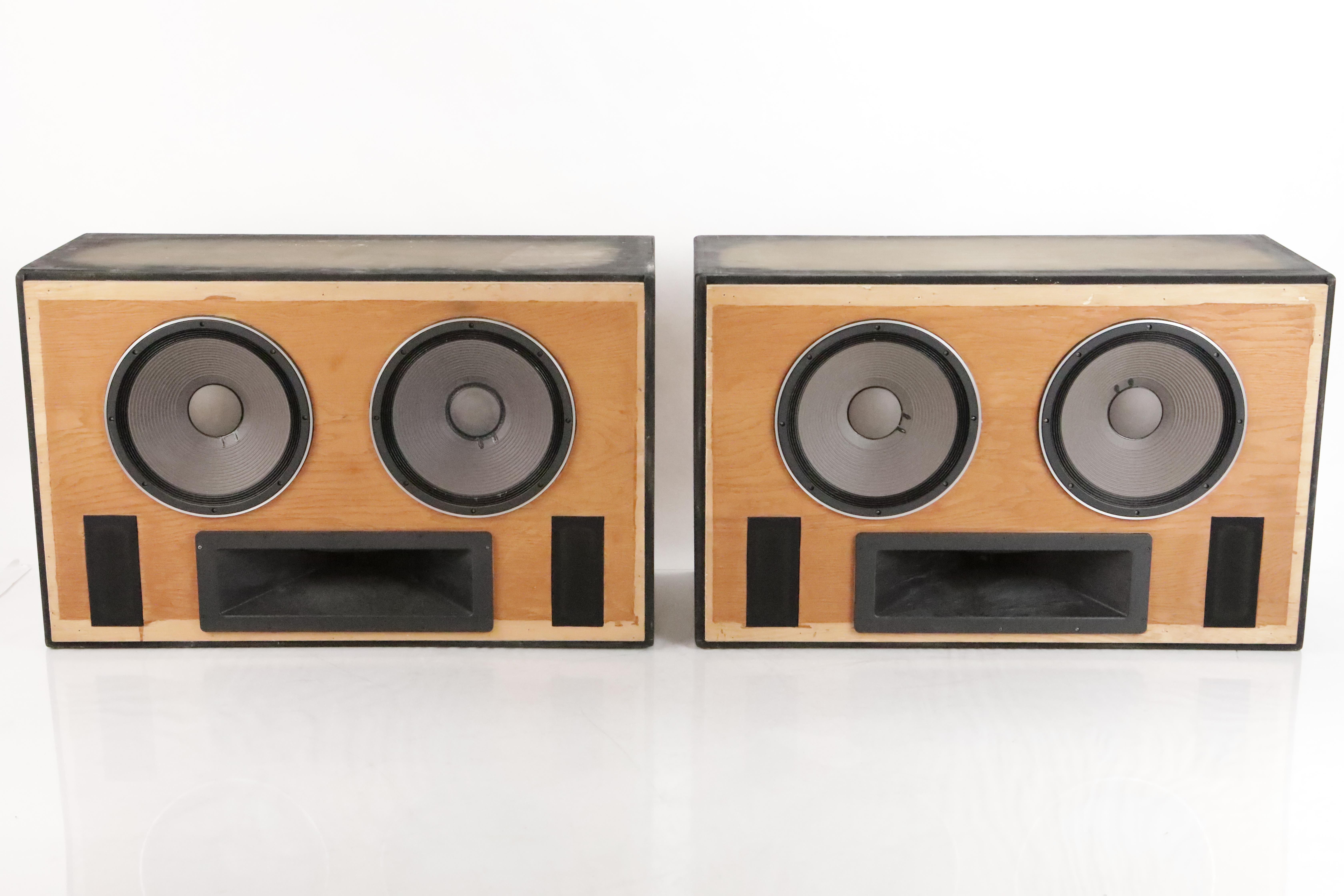 """Augspurger Studio Speaker Mains 2x15"""" Pioneer TAD TL-1601a & TD-4001 #35218"""