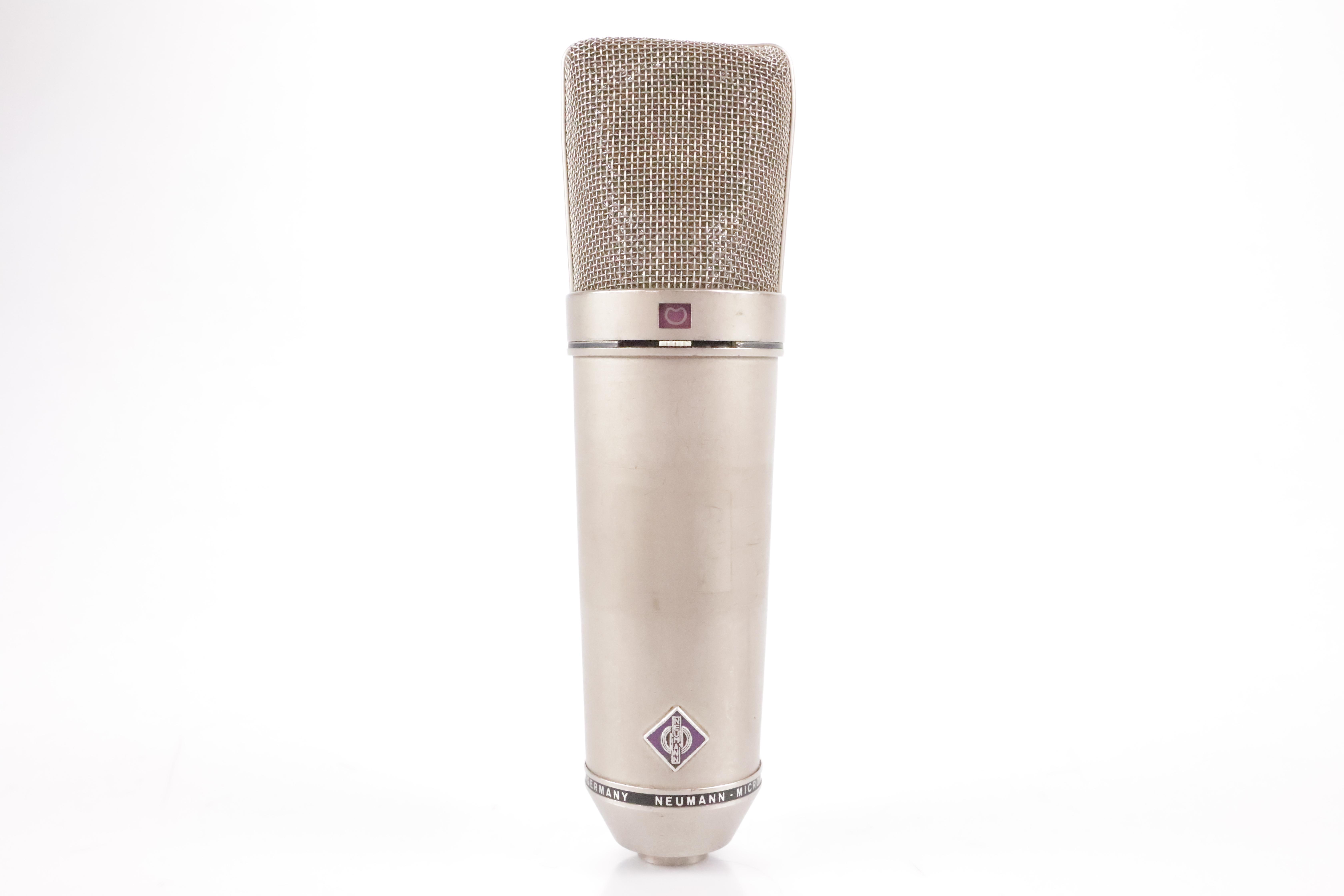 Vintage Neumann U 87 Condenser Microphone Mic w/ Case & Shockmount U87 #34824