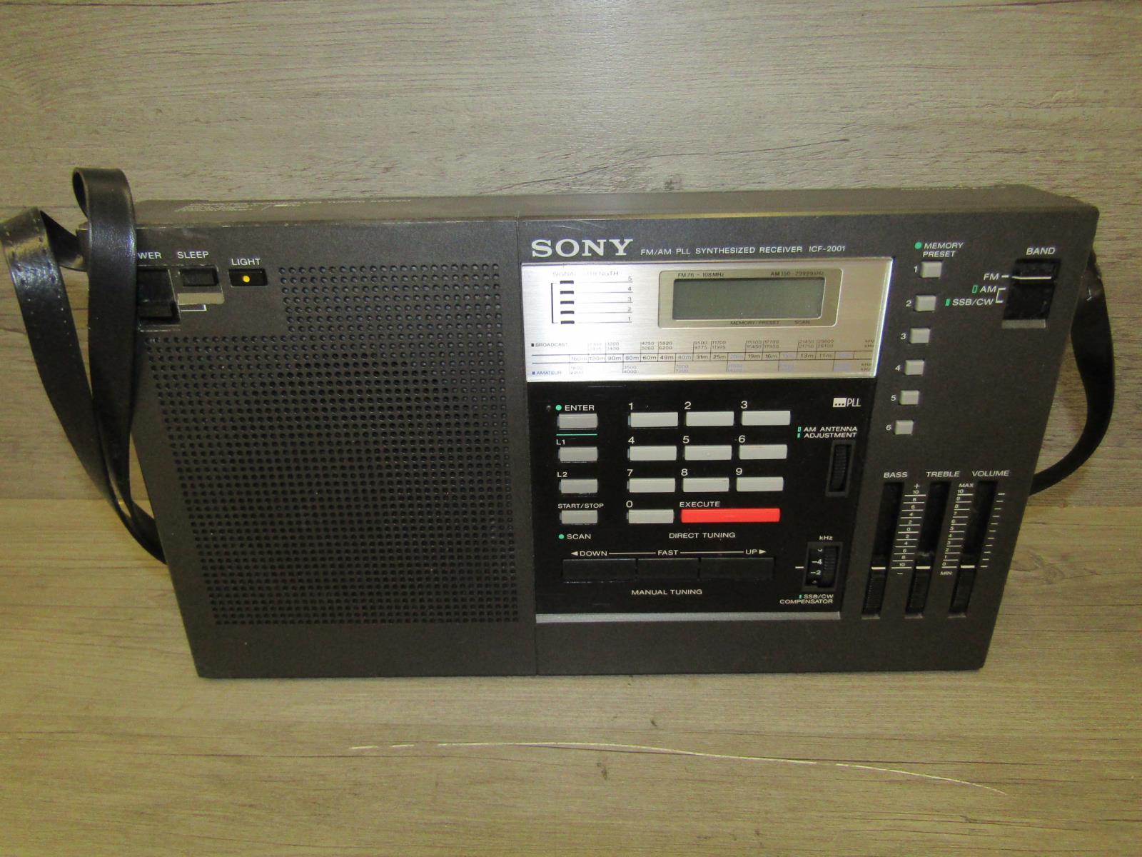 Sony icf 2001 old vintage radio   #426403971.