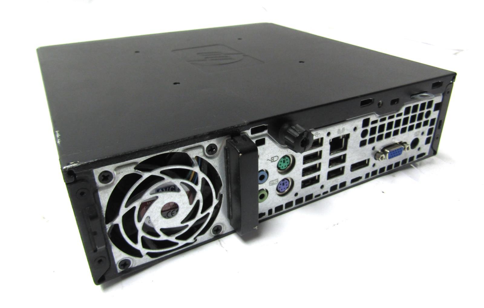 HP Compaq 8000 Elite USFF Desktop | 3 0GHz Core 2 Duo E8400 | 4GB