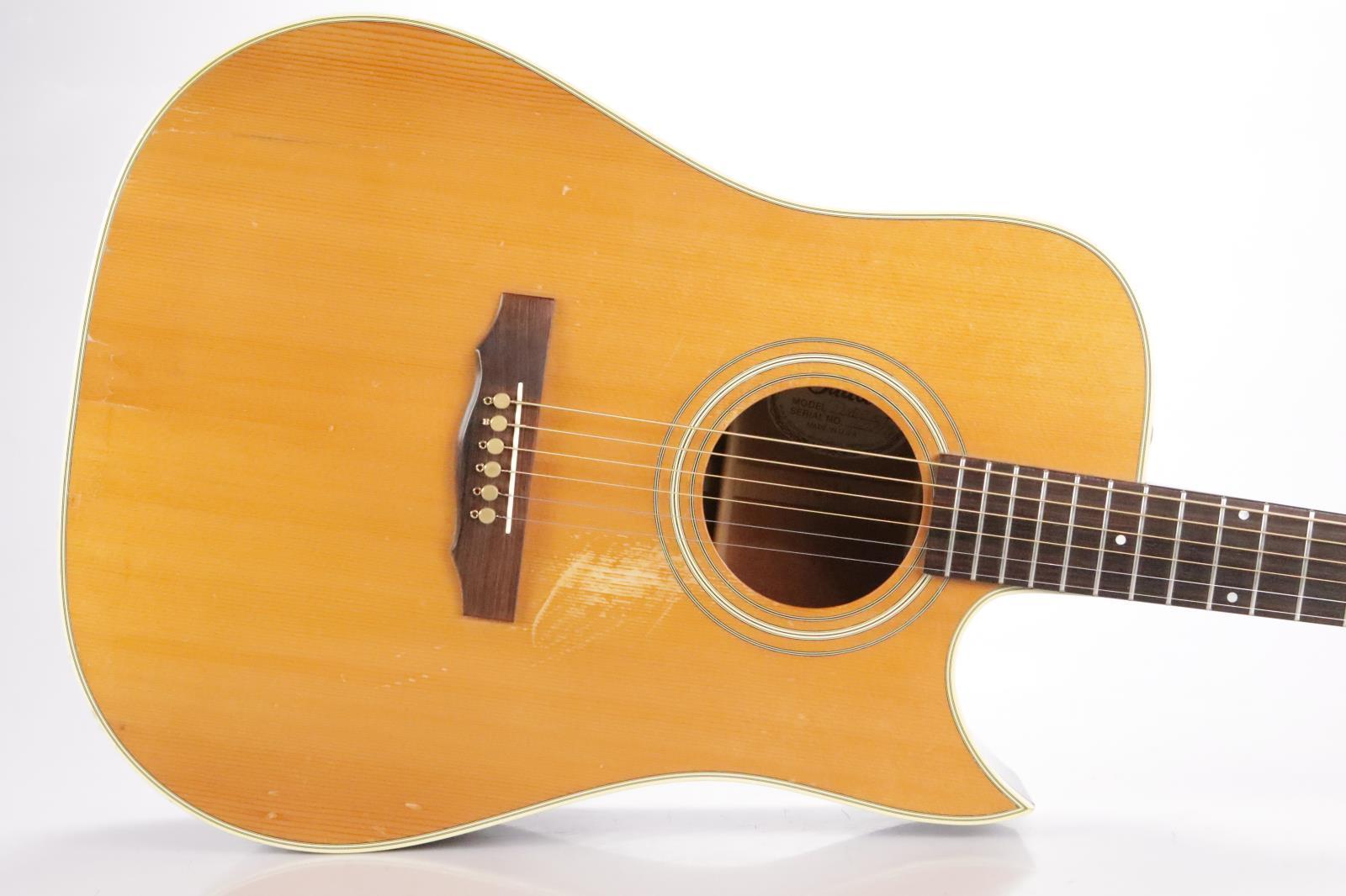 1976 Guild D40C Acoustic Guitar w/ Hard Shell Case & Extras D-40C D-40 C #34196