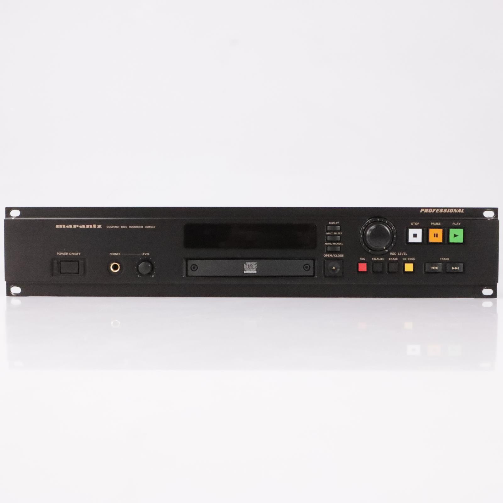 Marantz CDR630 Compact Disc CD Recorder #35630