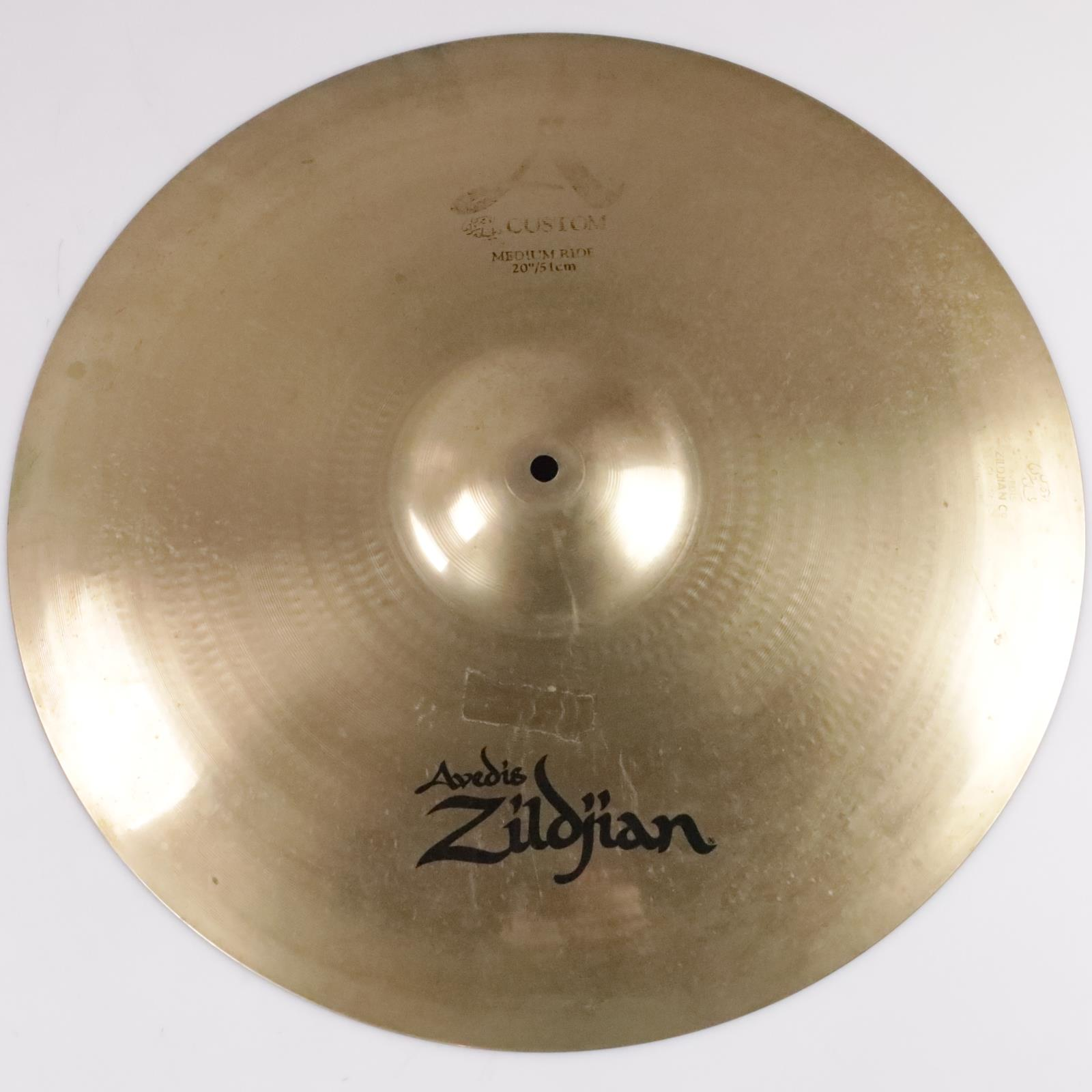 "Zildjian 20"" A Custom Medium Ride Cymbal #24540"