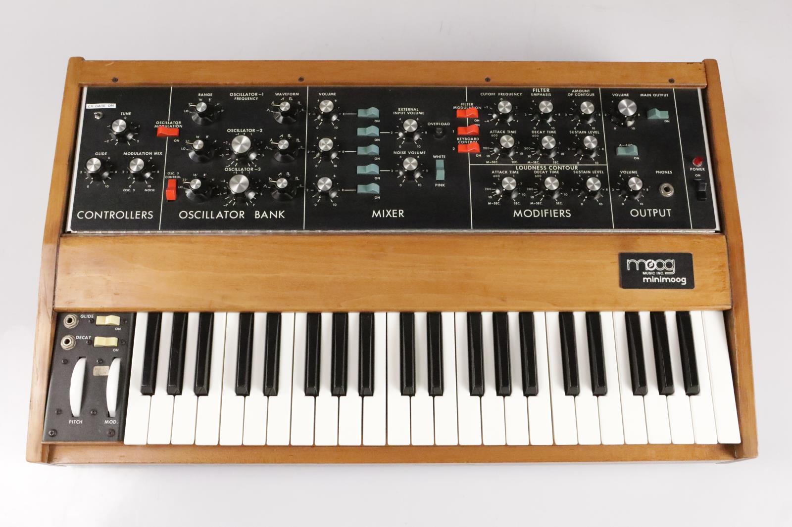 Vintage Moog Minimoog Model D Analog Synthesizer #35973