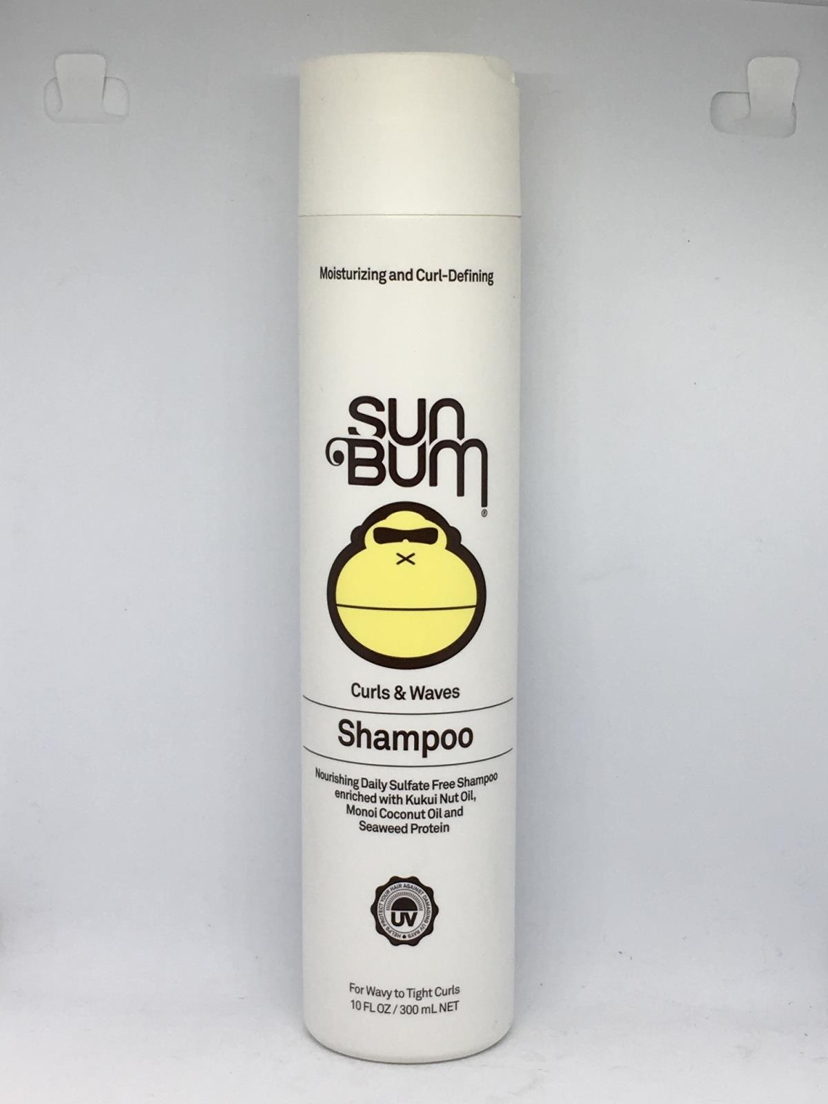 Details about Sun Bum Moisturizing and Curl-Defining Curls & Waves Shampoo  10 FlOz