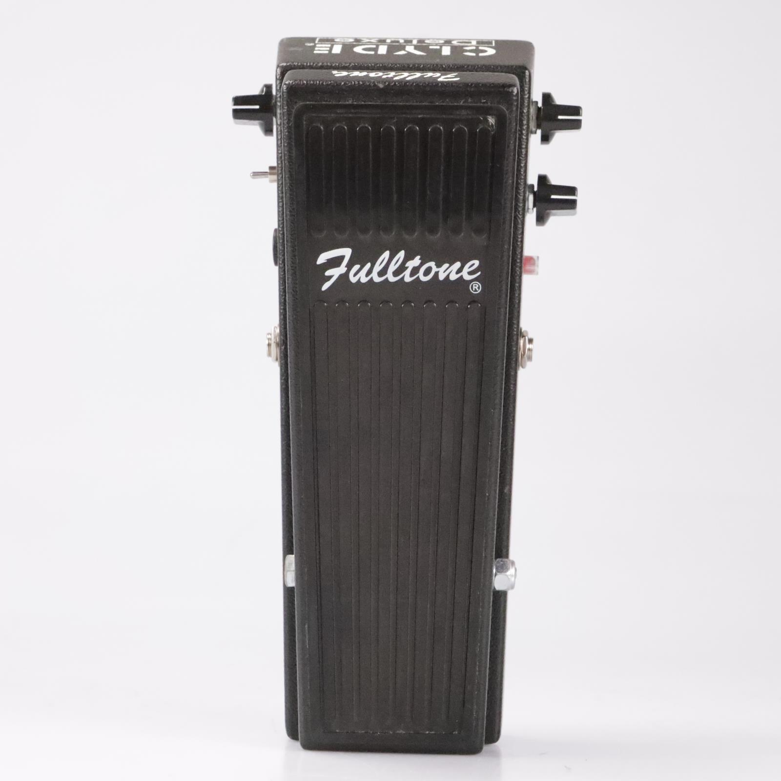 Fulltone Clyde Deluxe Wah w/ Booster/Buffer Control Owned by Fall Out Boy #35872