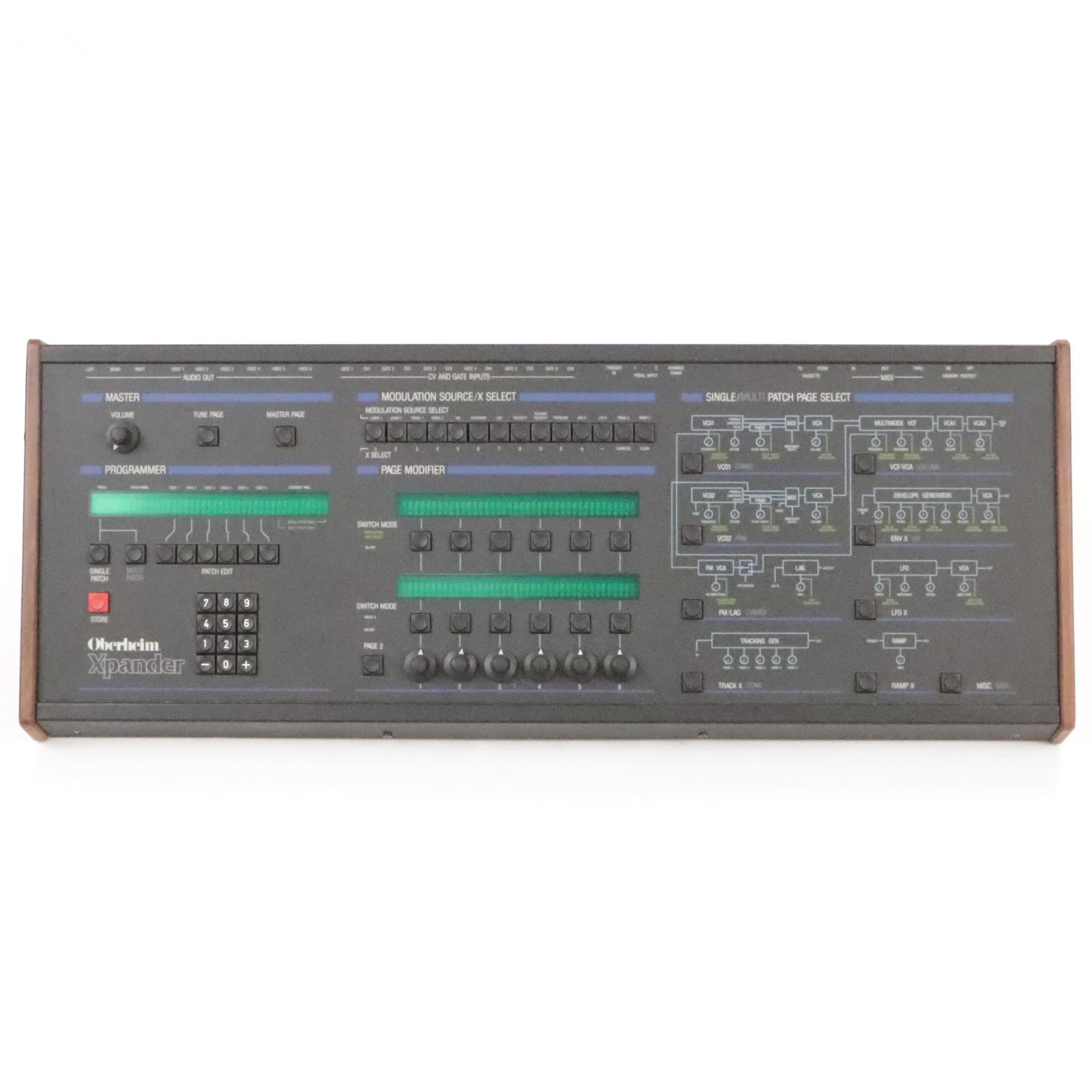 Oberheim Xpander XP-1 Analog Synthesizer Synth w/ OberMod #35987