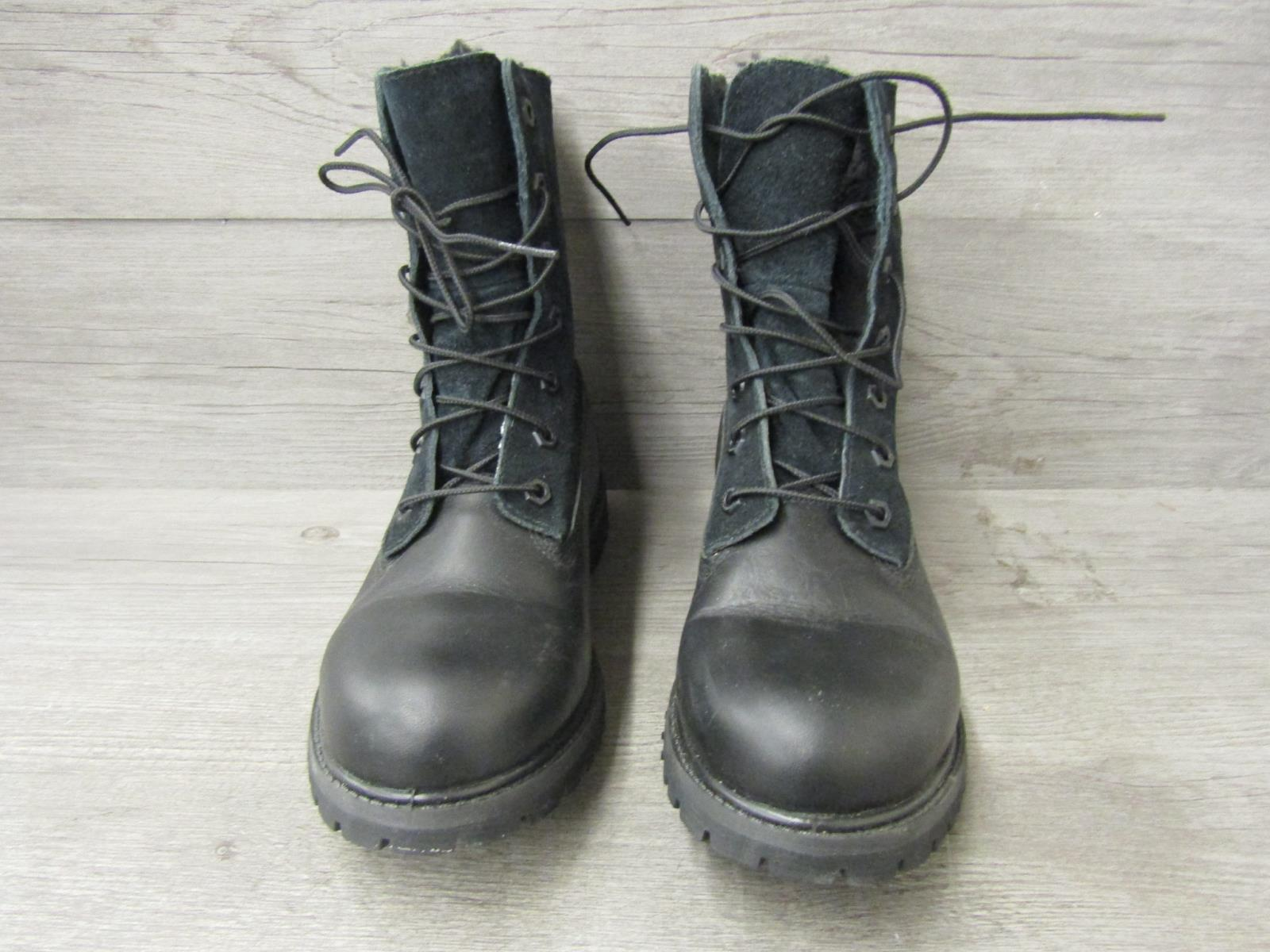 6383690713b Details about Pair of Timberland Earthkeepers Black Women's Waterproof  Boots Size 8.5M