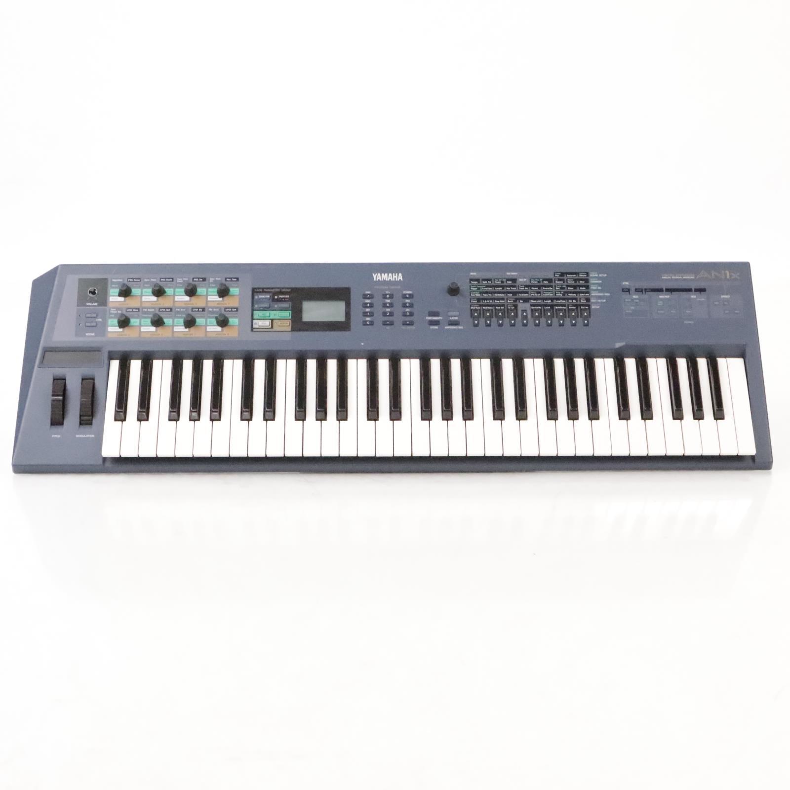 Yamaha AN1X Analog Physical Modeling 61-Key Synthesizer w/ Power Supply #35677
