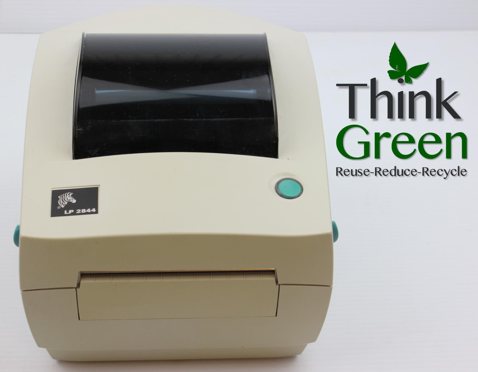 Zebra LP 2844 Yellowed Direct Thermal Label Printer for  Shipping Others