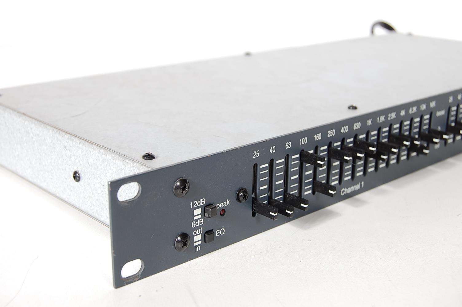 Details about BIAMP Advantage mEQ152 Rack Mount Professional Equalizer (No  Power Supply)