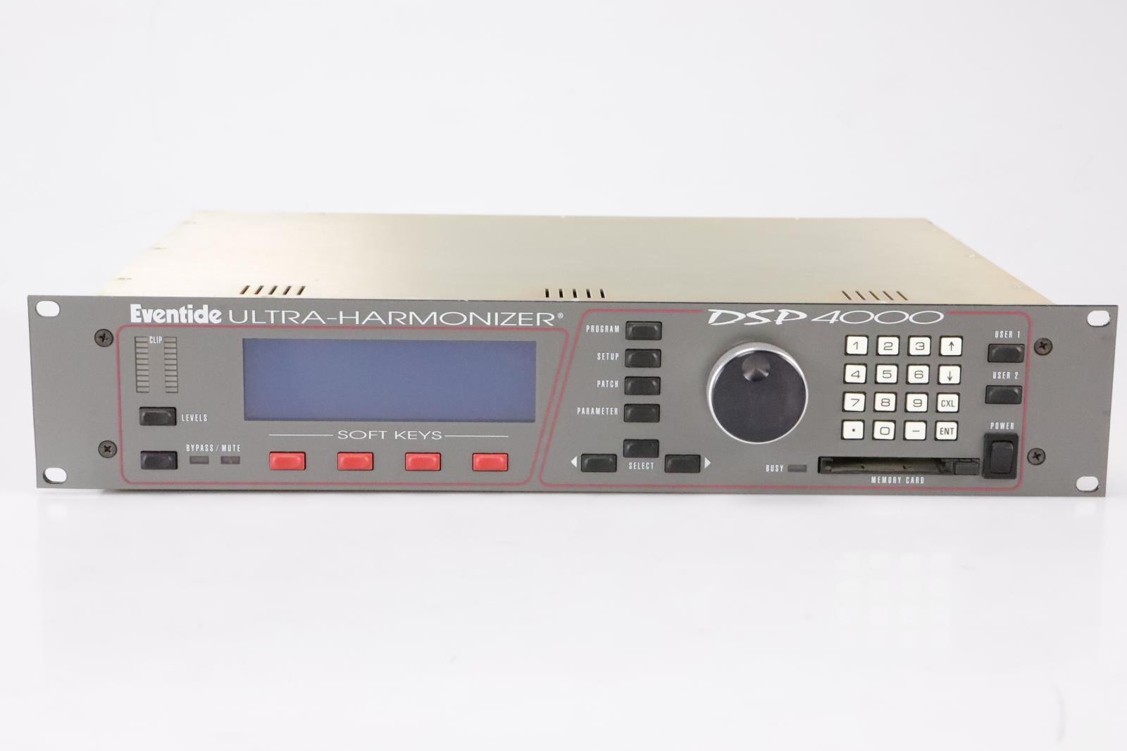 Eventide DSP 4000 Ultra-Harmonizer Digital Audio Processors Rev. 2.0 #35666
