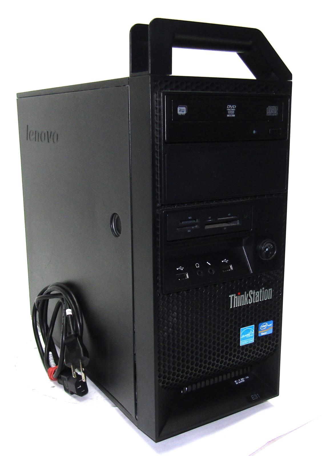 Torre Lenovo ThinkStation E31 | 3 30GHz Xeon E3-1230 V2