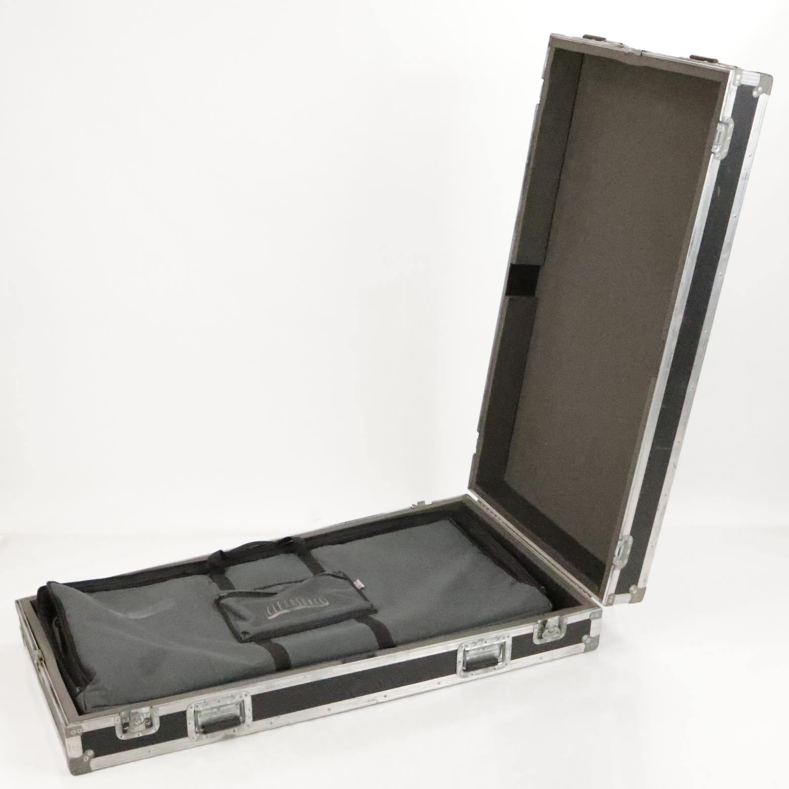 """Clearsonic A2448x2 Drum Amp Baffle 48""""x48"""" Sound Plexiglass Panel W/ Case #36238"""