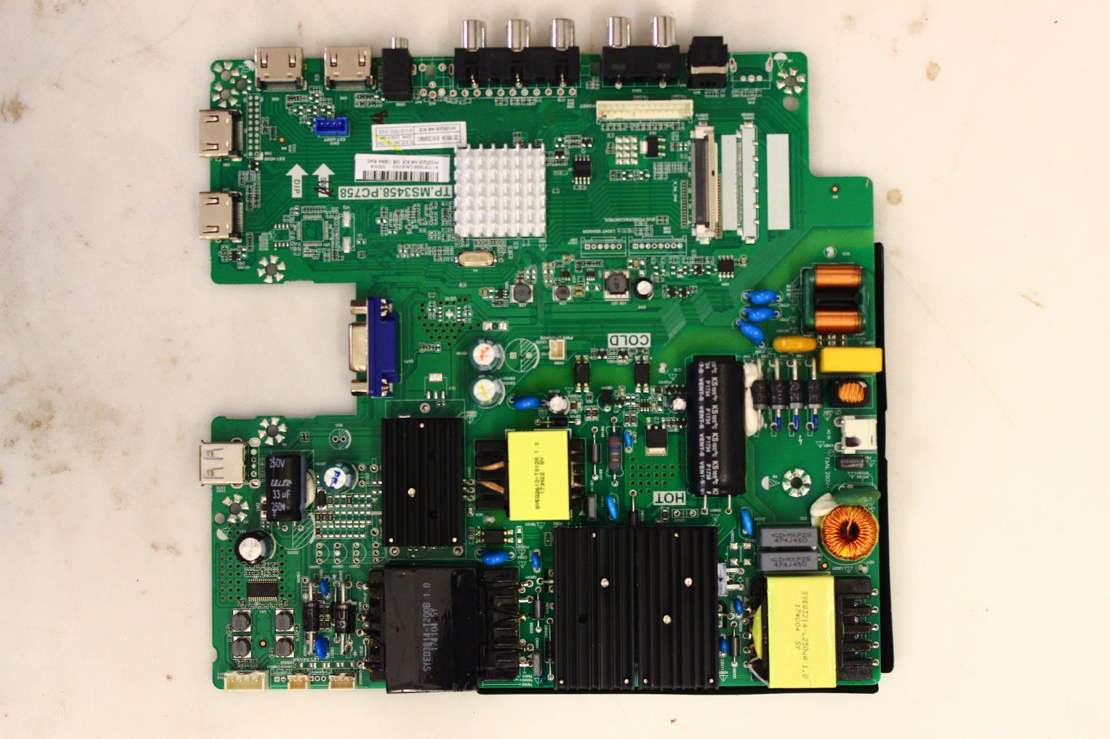 Sceptre W55 U550CV-UMR8 Main Board/Power Supply 8142123342060
