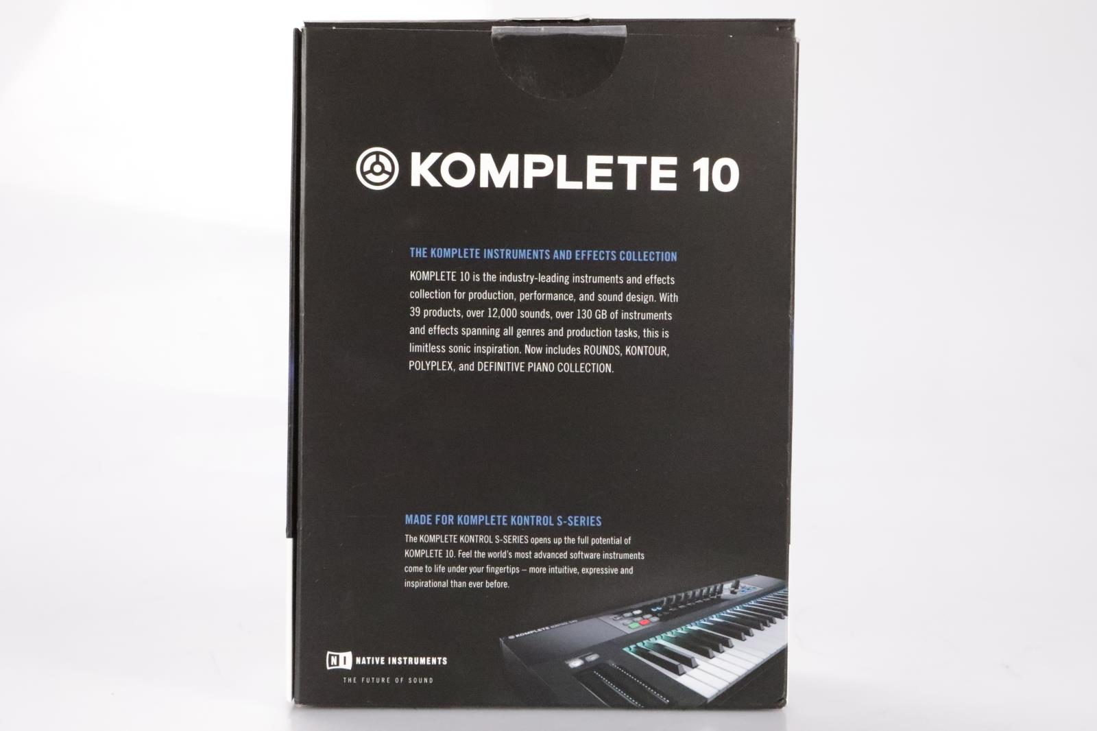 Details about Native Instruments Komplete 10 Update 13 DVD's Kontrol  S-Series #36255