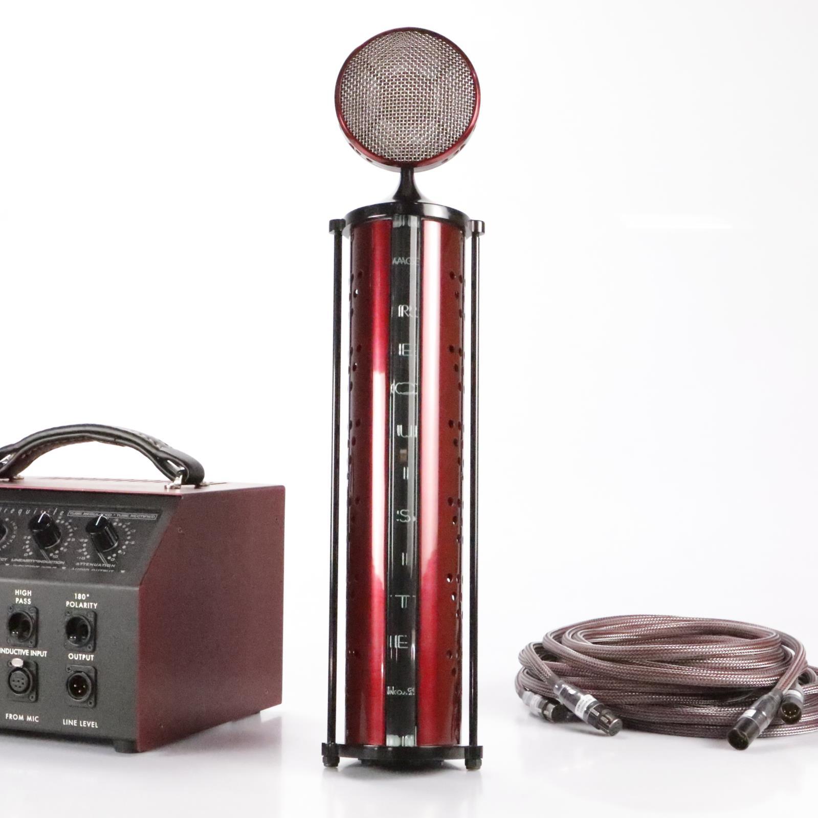 Requisite Audio L7 Line Level 9-Pattern +32dB Condenser Tube Microphone #36261