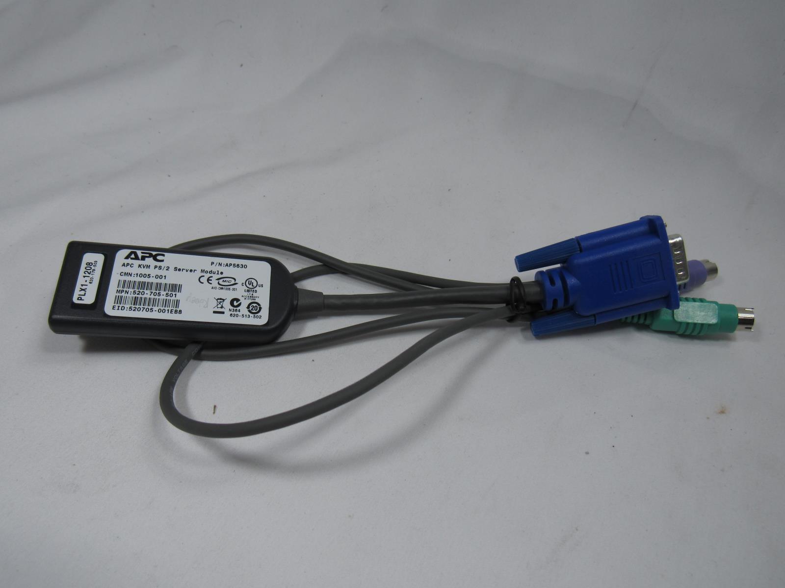 KV126A Black Box ServSelect Serve Select IP USB Server KVM Switch Module Cable