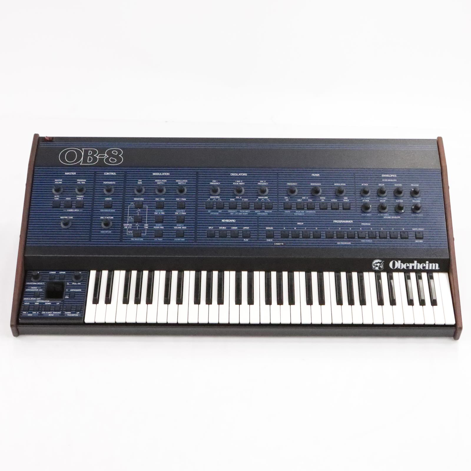 1984 Oberheim OB-8 Analog Synthesizer Synth w/ MIDI & Original Box #35216