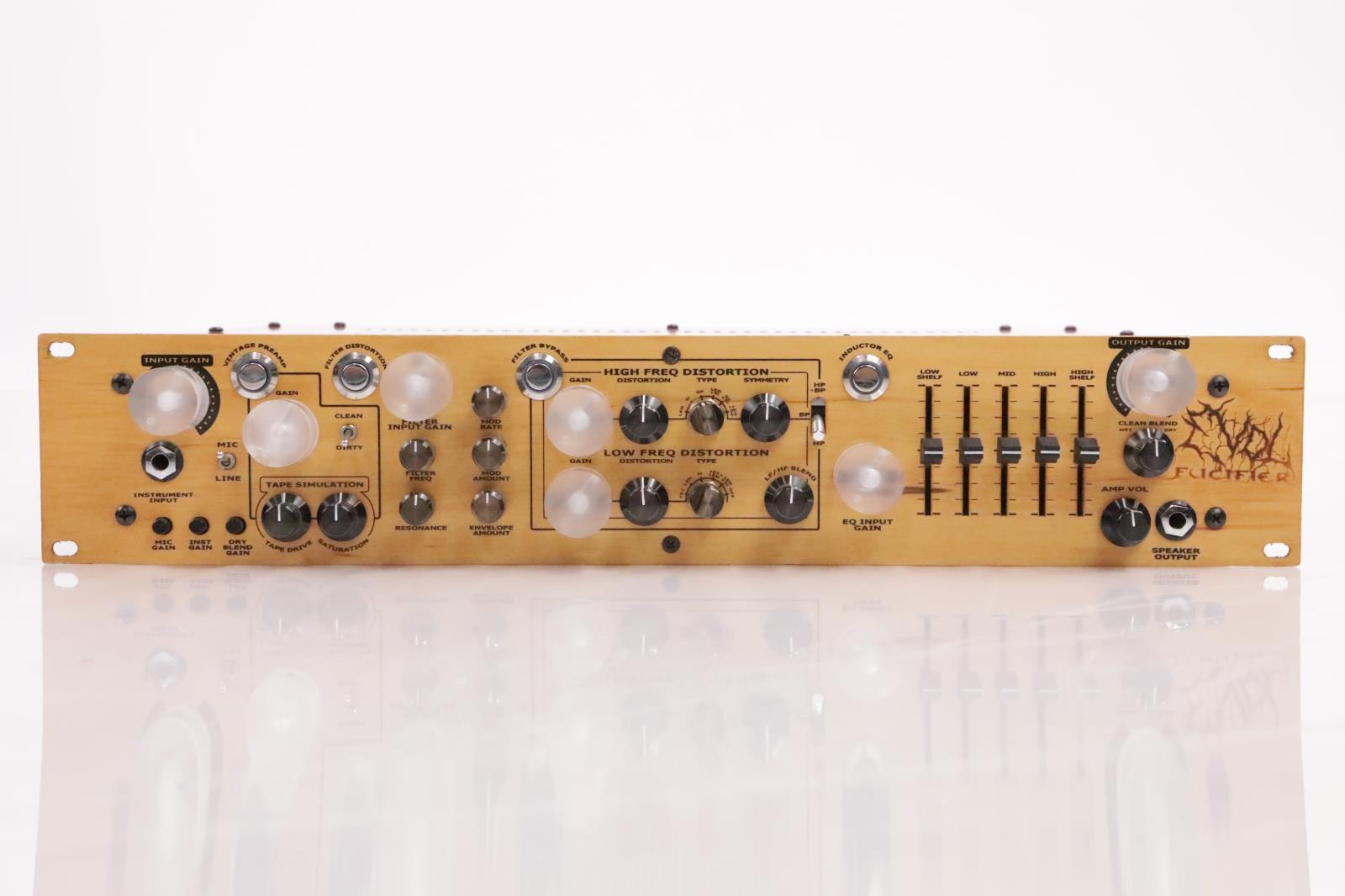 Evol Audio Fucifier Mic Pre Line Instrument Preamp & Distortion Processor #36204