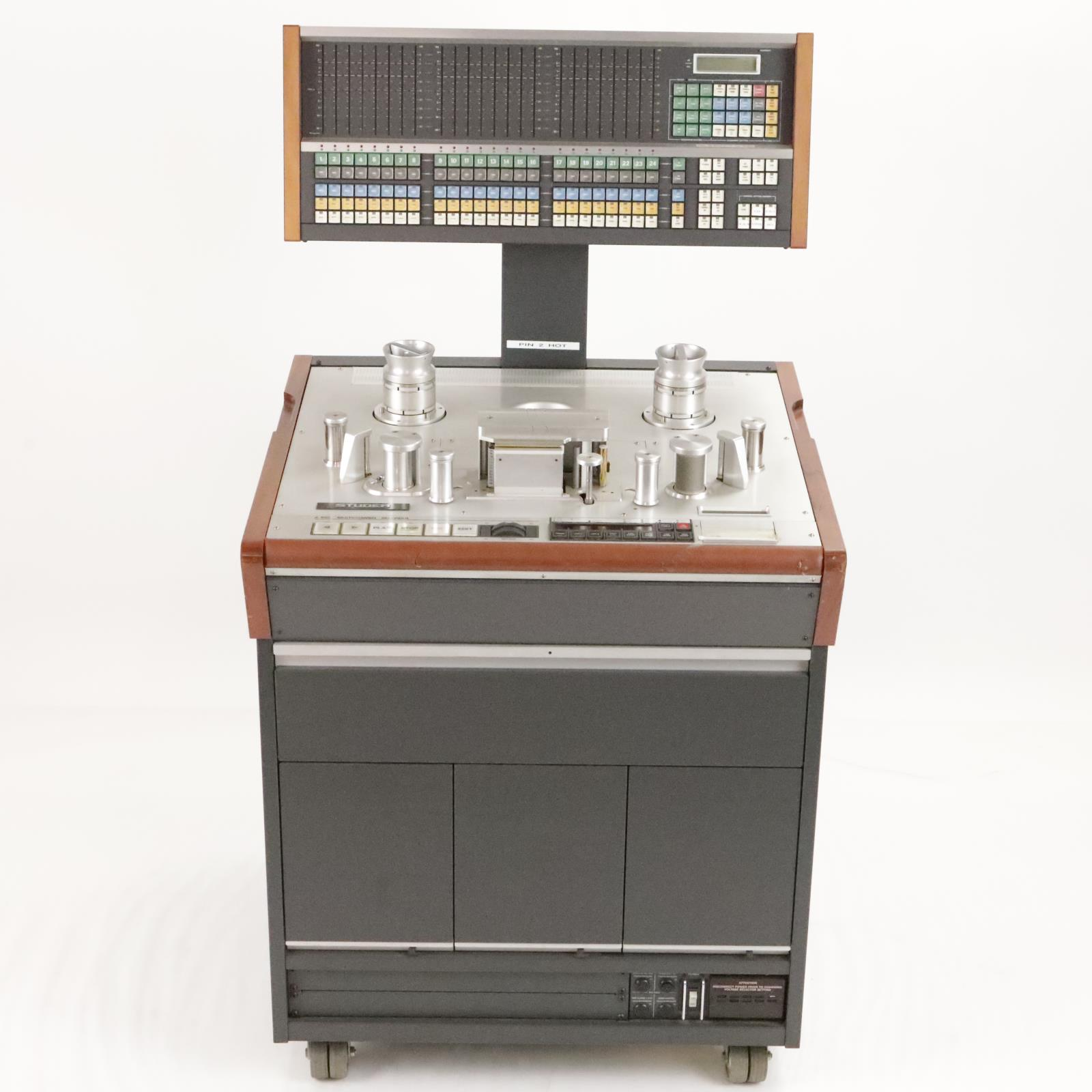 "Studer A820 24 Track 2"" Analog Multitrack Tape Machine Recorder #33935"