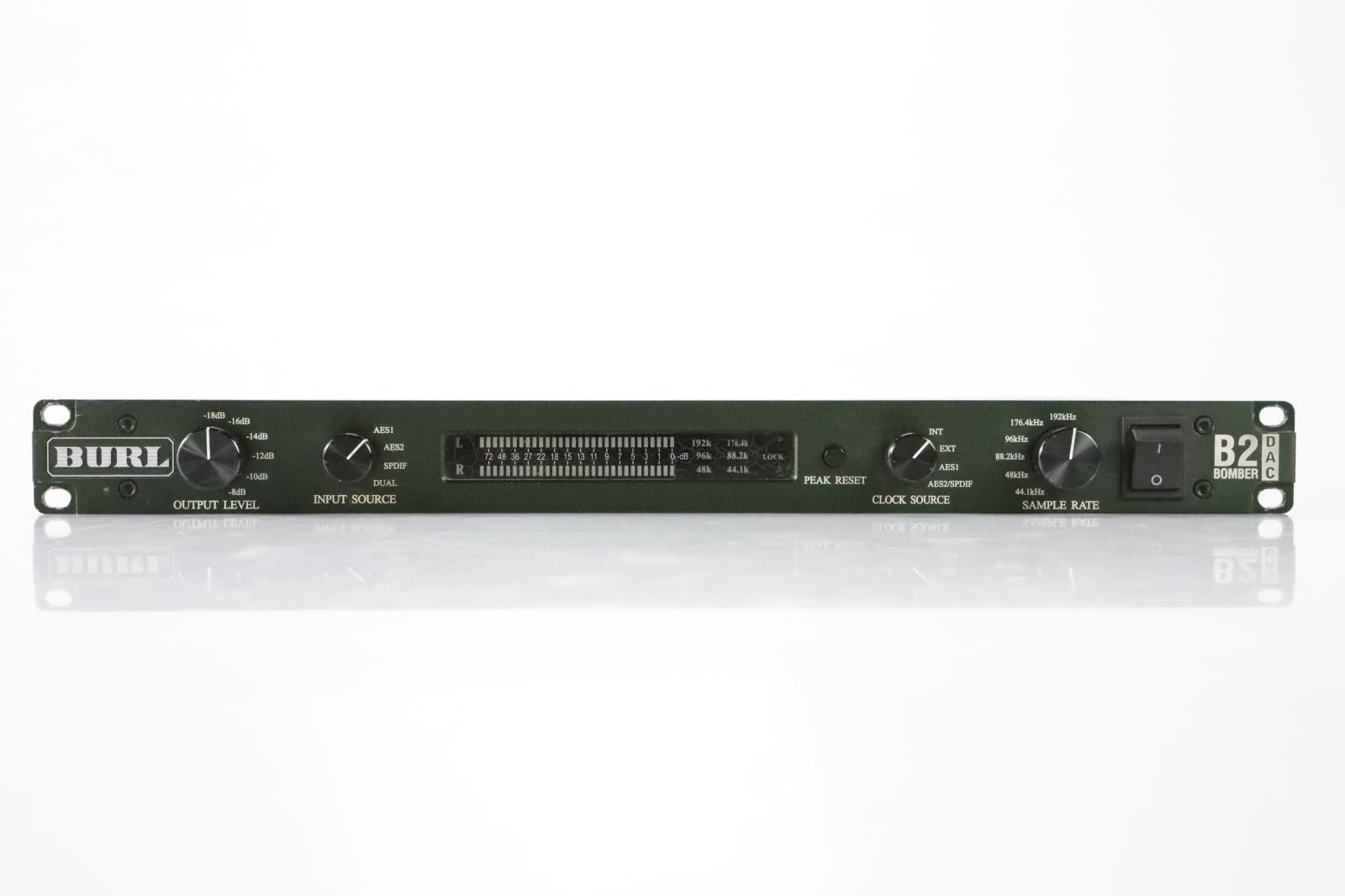 Burl Audio B2 Bomber DAC Two-Channel 192 kHz Digital/Analog Converter #36370