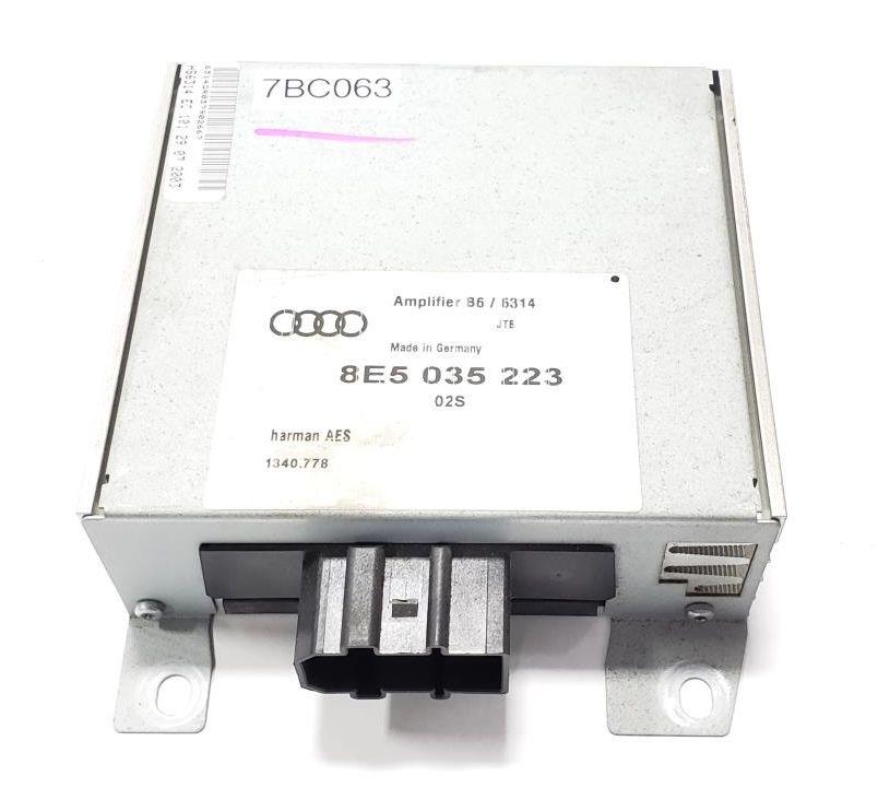 RADIO AMP AUDI A4 S4-8E5035223 AMPLIFIER STEREO