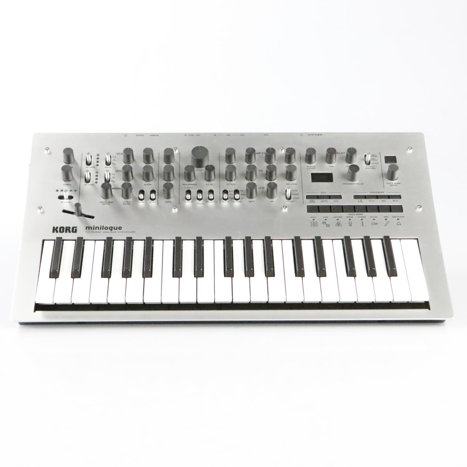 Korg Minilogue 4-voice Analog Polyphonic Synthesize  #36361