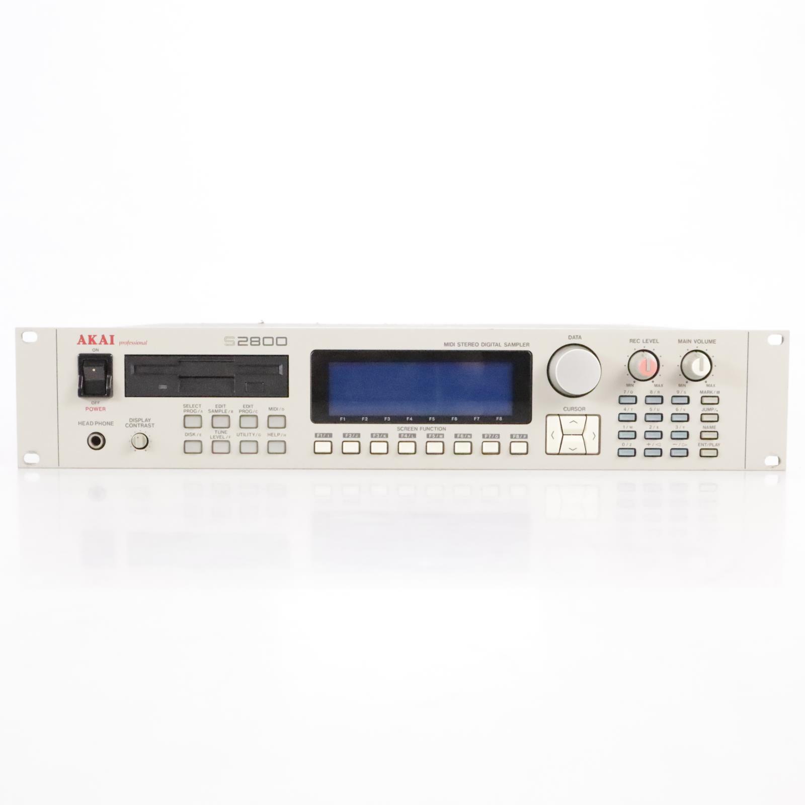 Akai S2800 Rack MIDI Stereo Digital Sampler #25016