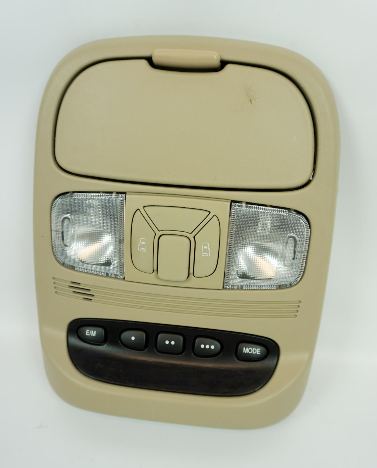 2004-2010 Toyota Sienna Overhead Console with Homelink and