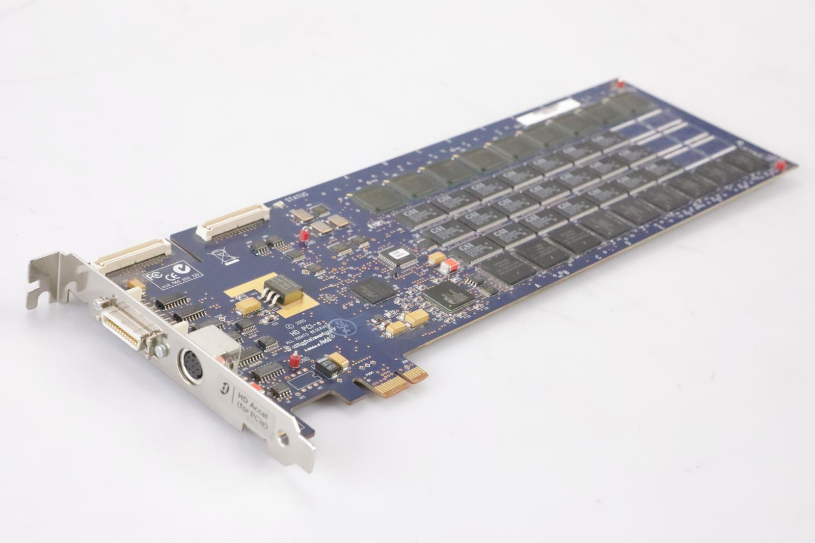 Digidesign HD Accel Card PCI-e with Flex Cable Pro Tools Avid #36118