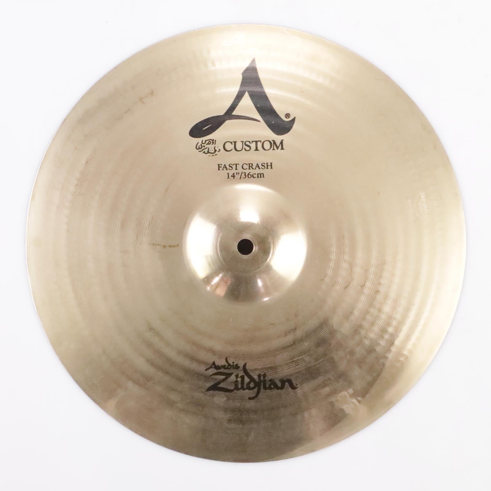 "Zildjian 14"" A Custom Fast Crash Cymbal #35749"