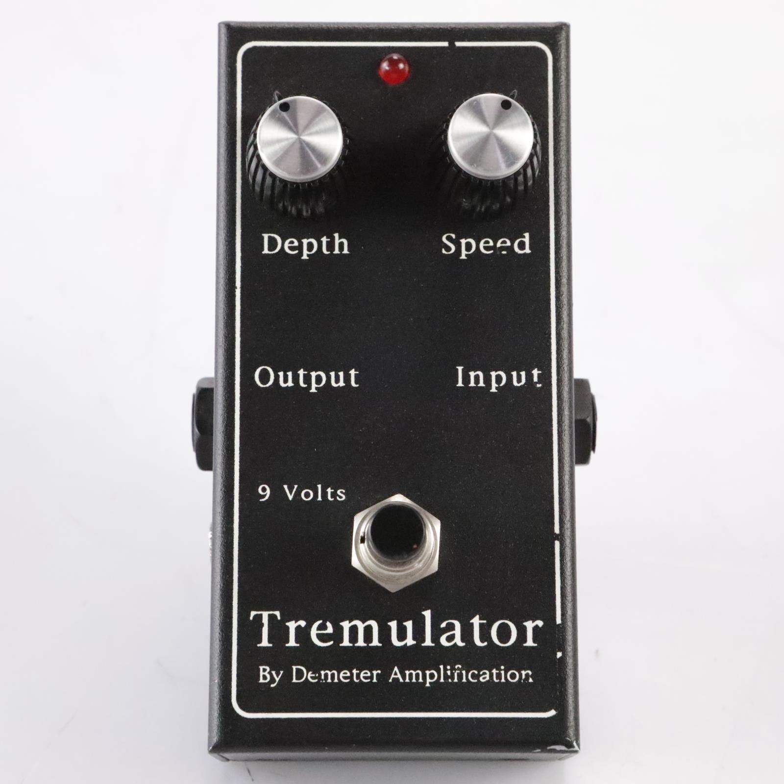 Demeter TRM-1 Tremulator Tremolo Vibrato Effects Pedal Stompbox #36385