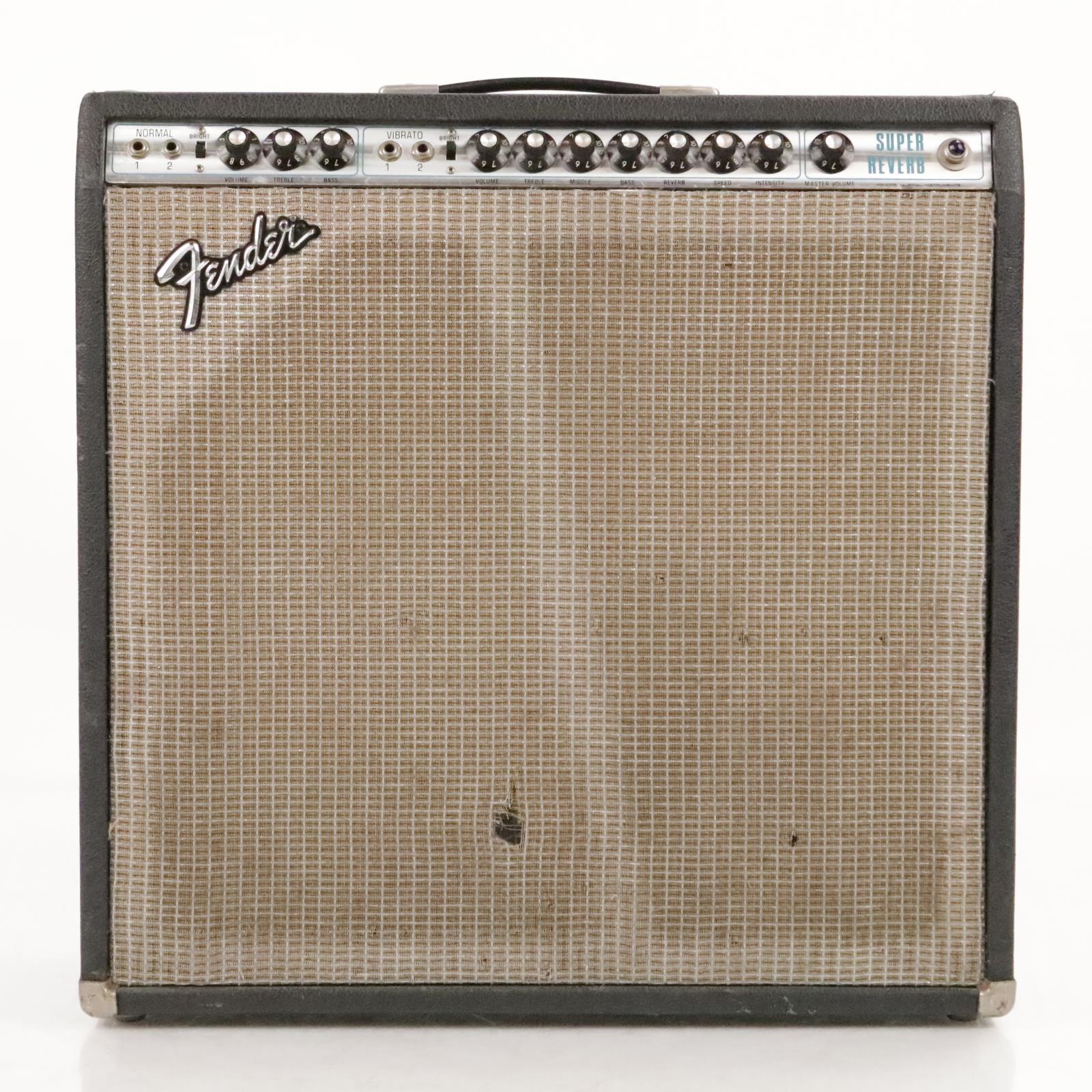 1975 Fender Super Reverb w/ 4 Fender CTS Alnico Speakers #36290