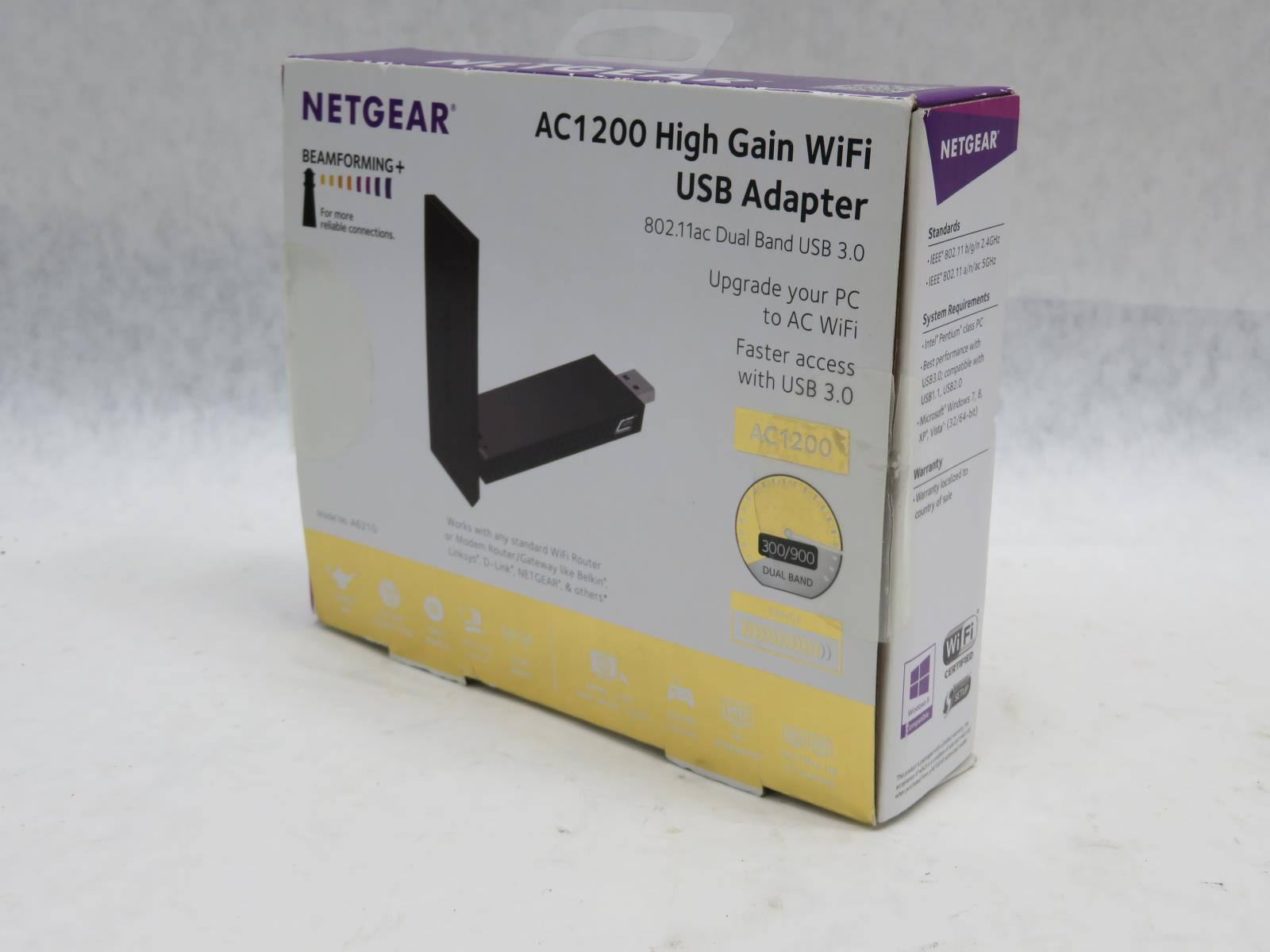 Details about NetGear AC1200 Wifi USB 3 0 Adapter