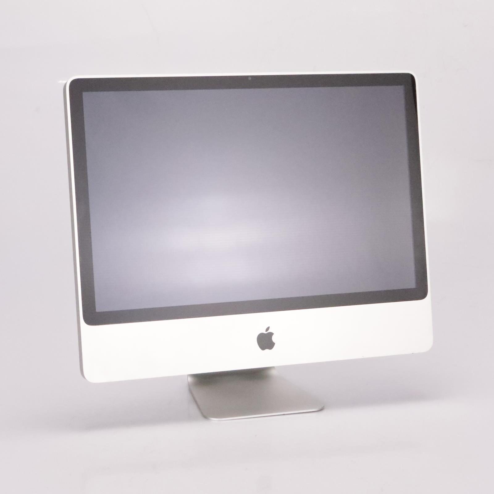 "2009 Apple 24"" iMac 2.93 GHz Intel Core 2 Duo 640GB HD 4GB RAM El Capitan #35167"