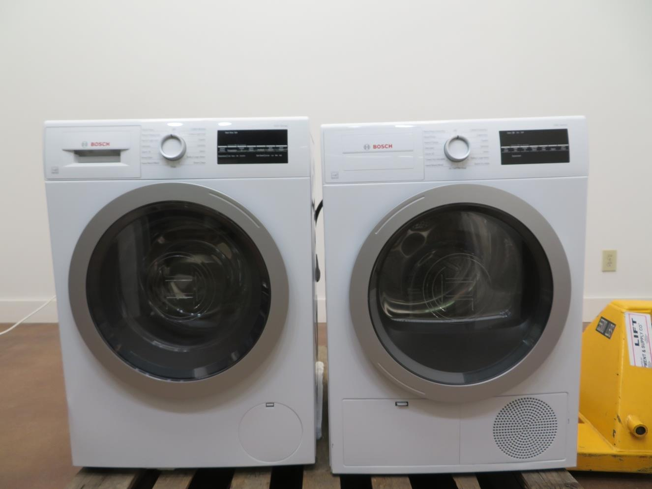 Details About Bosch 500 Series 24 Front Load Washer And Dryer Wat28401uc Wtg86401uc Imges